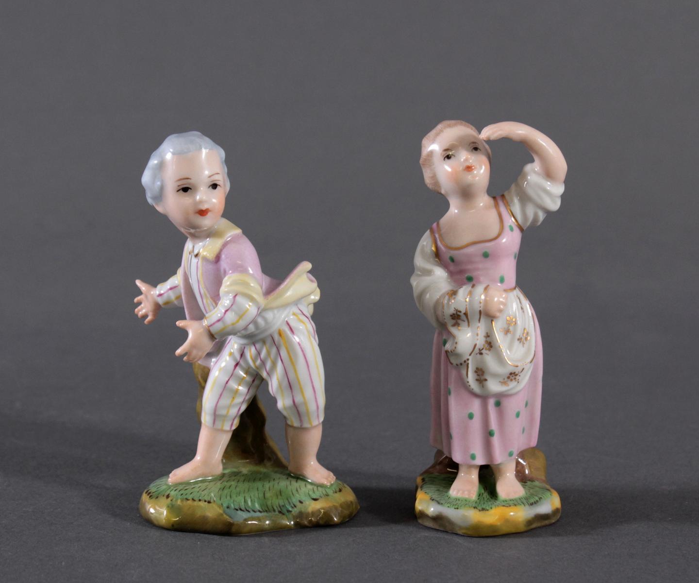Porzellanfigur, Höchster Porzellanmanufaktur, 'Mädchen'