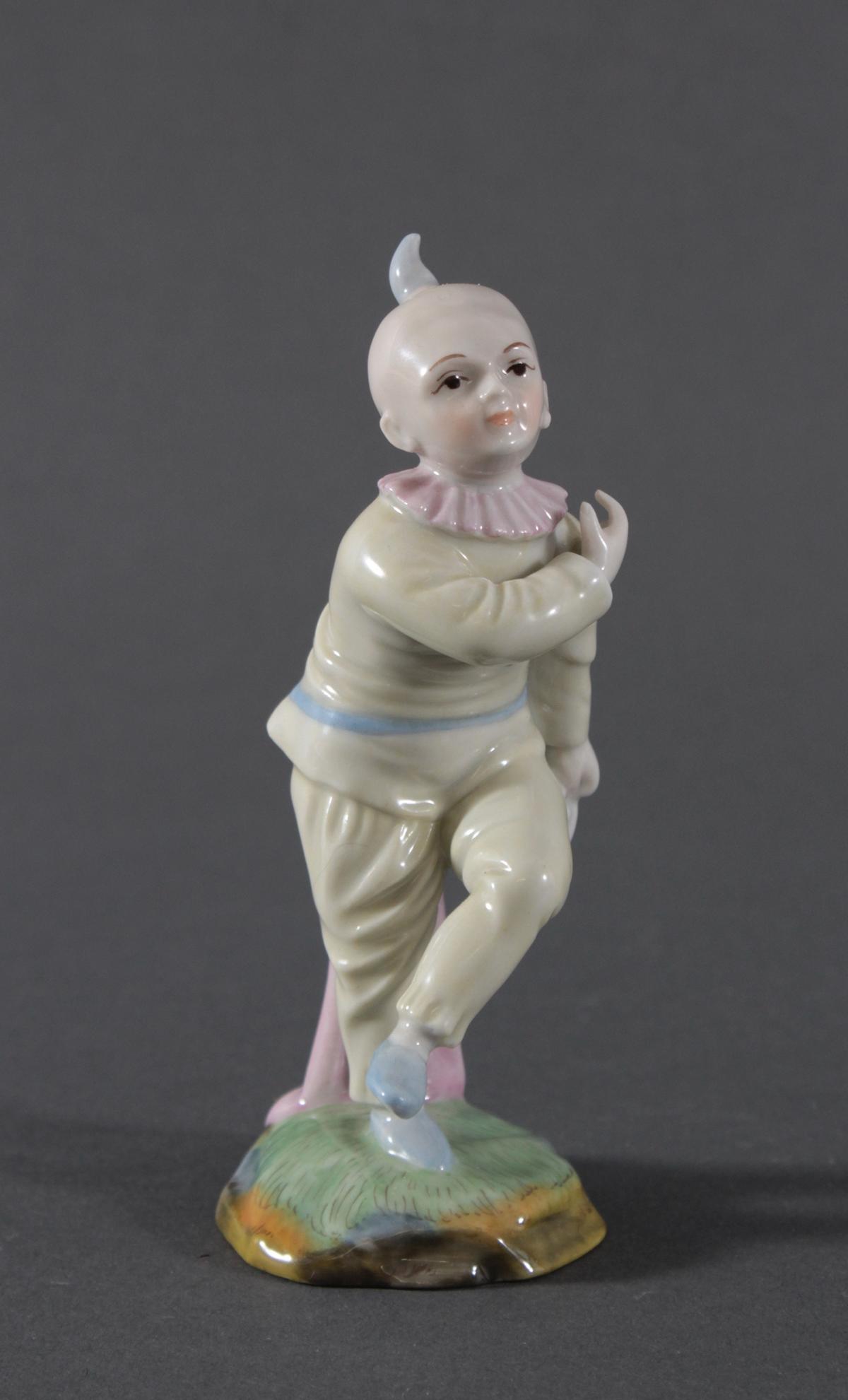 Porzellanfigur, Höchster Porzellanmanufaktur, 'Harlekin'