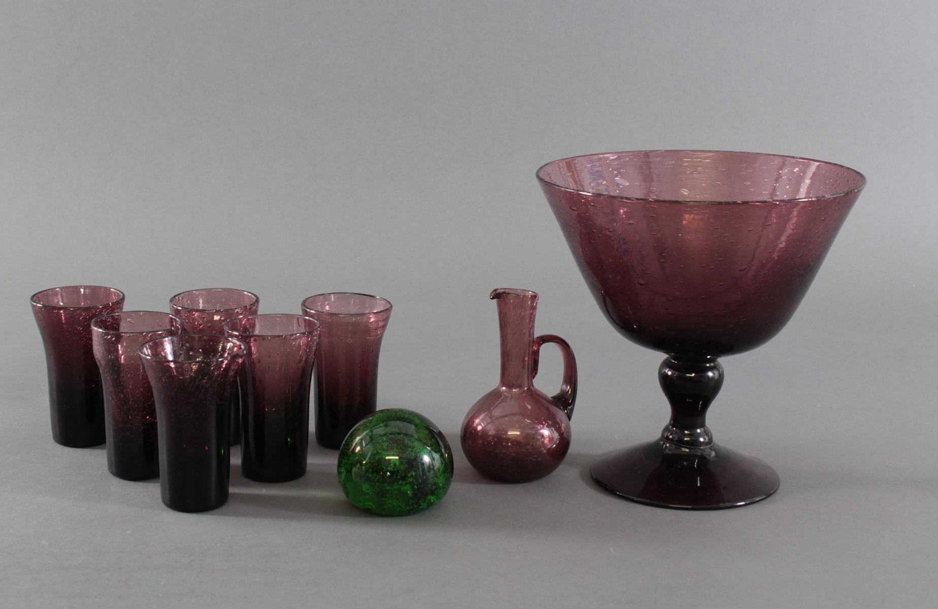 Biot: luftige Glaskunst aus der Provence. 9 Stück