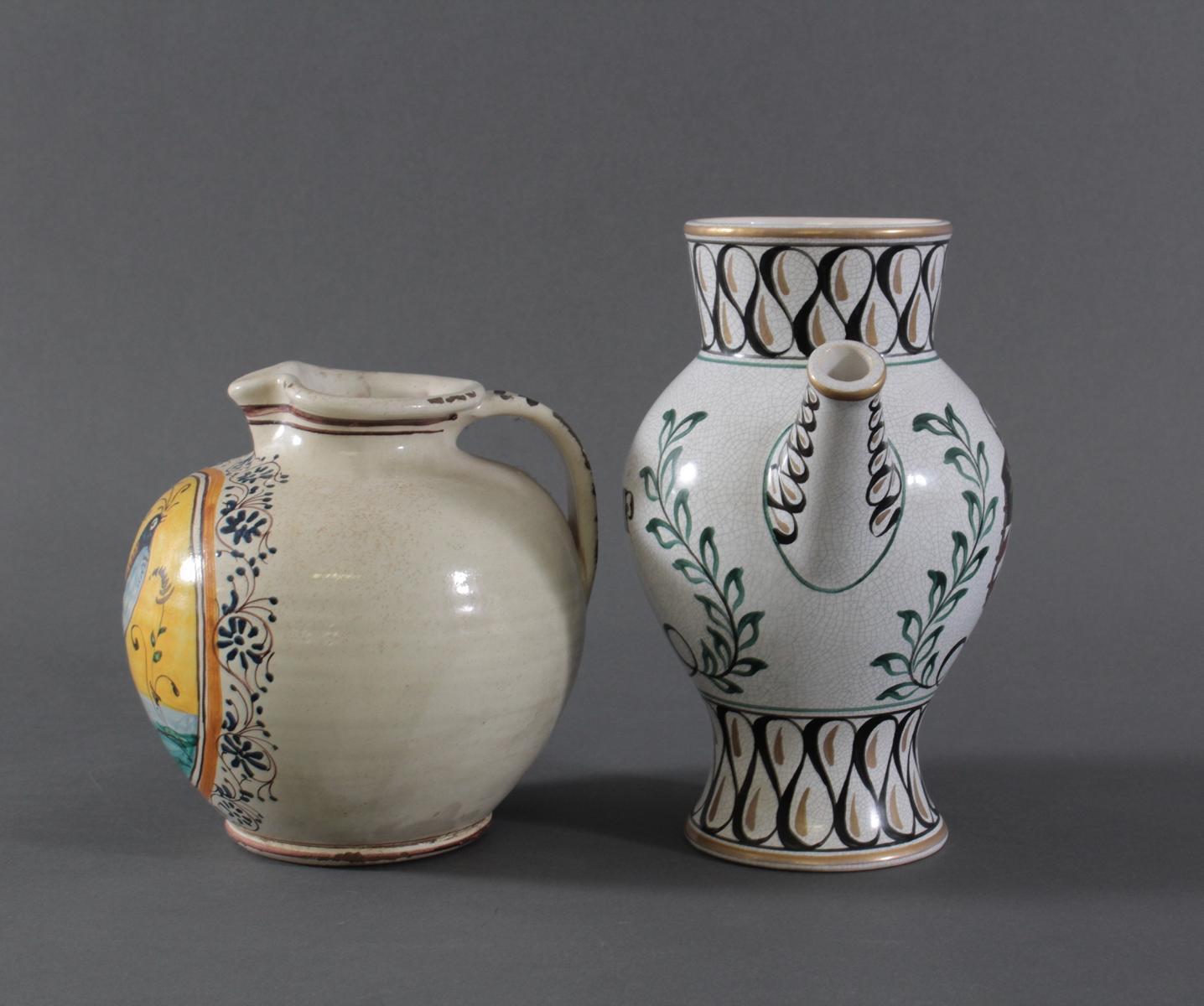 Zwei Apothekergefäße, 20. Jahrhundert-2