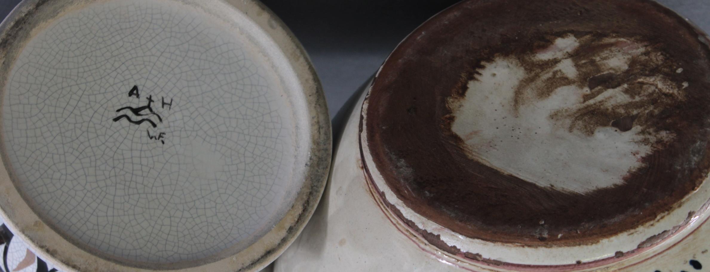 Zwei Apothekergefäße, 20. Jahrhundert-4