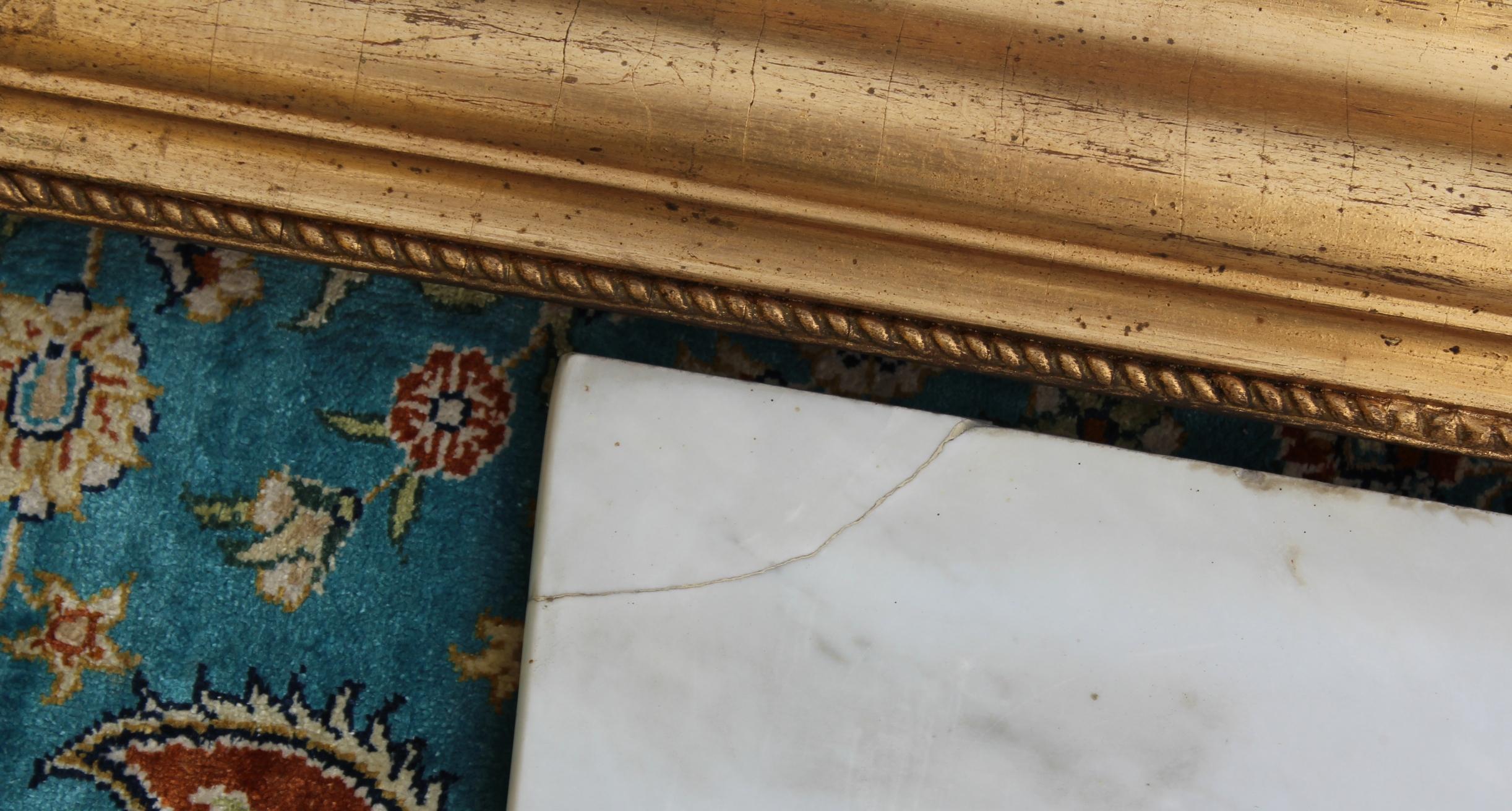 Spiegel und Hängekonsole im Empire Stil-4