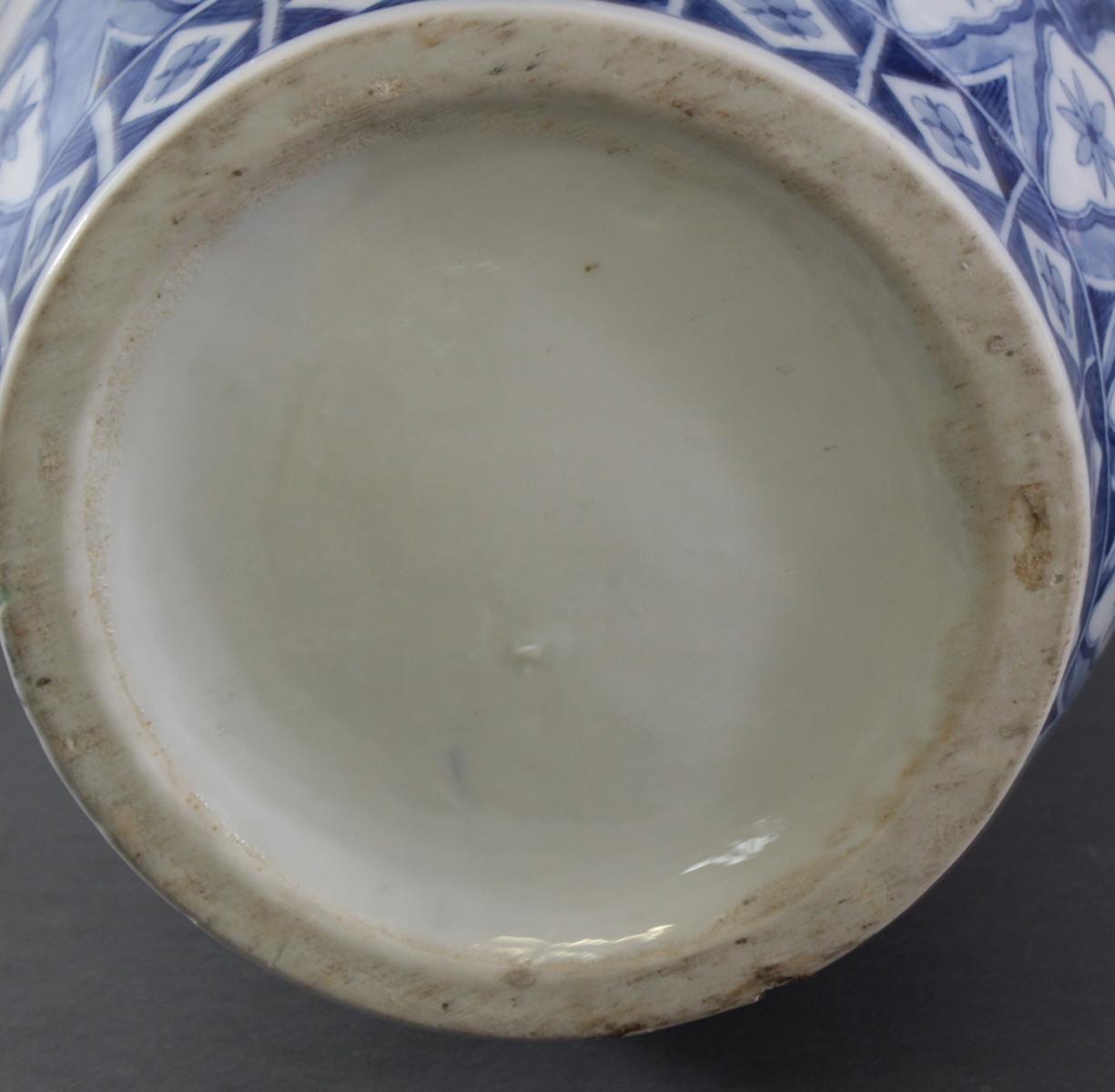 Große Chinesische Porzellan-Vase, Bodenvase, 20. Jh.-6