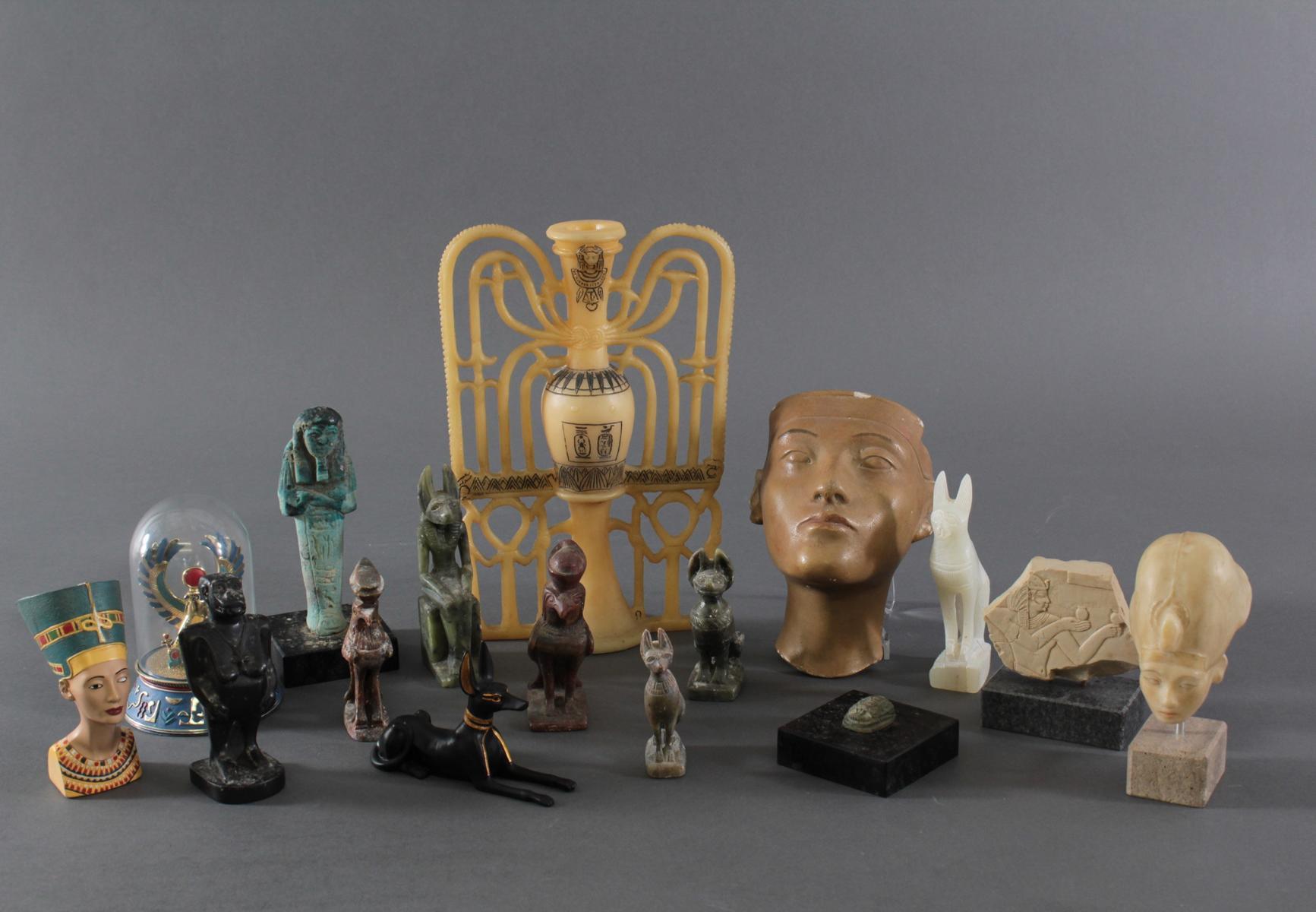 Museums-Replikat Sammlung, Ägyptische Figuren