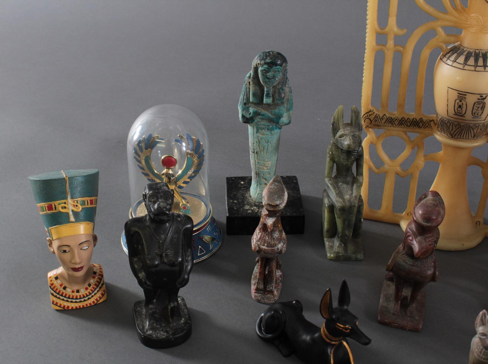 Museums-Replikat Sammlung, Ägyptische Figuren-2