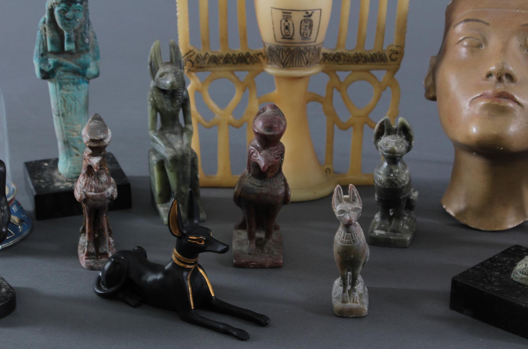 Museums-Replikat Sammlung, Ägyptische Figuren-3