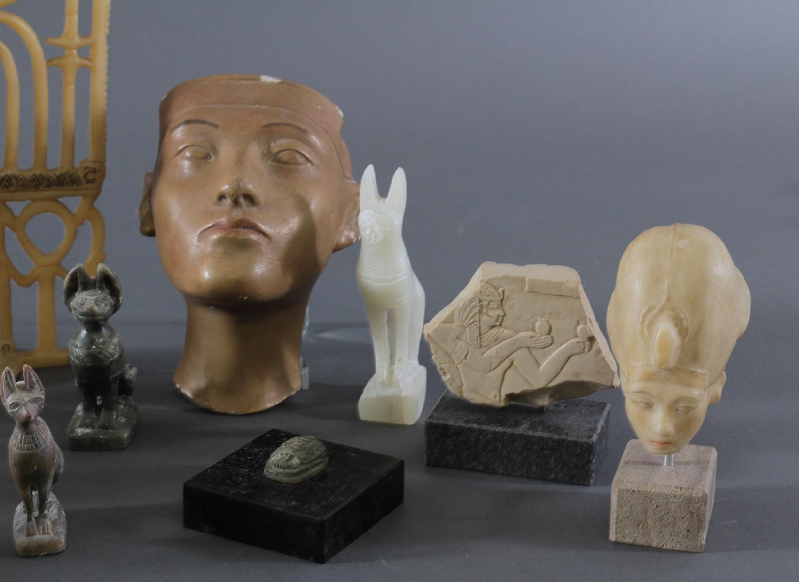 Museums-Replikat Sammlung, Ägyptische Figuren-4