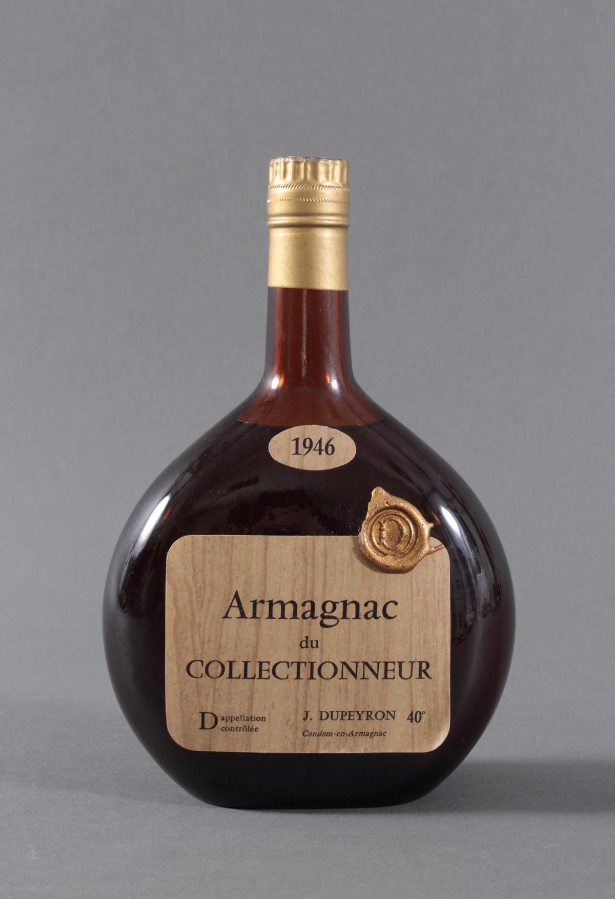 1946er Armagnac du Collectionneur, J. Pupeyron