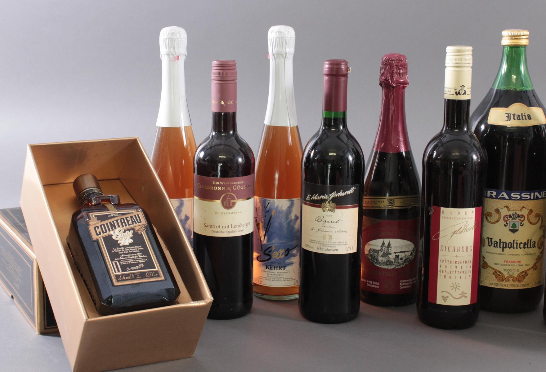 Konvolut Wein und Spirituosen-2