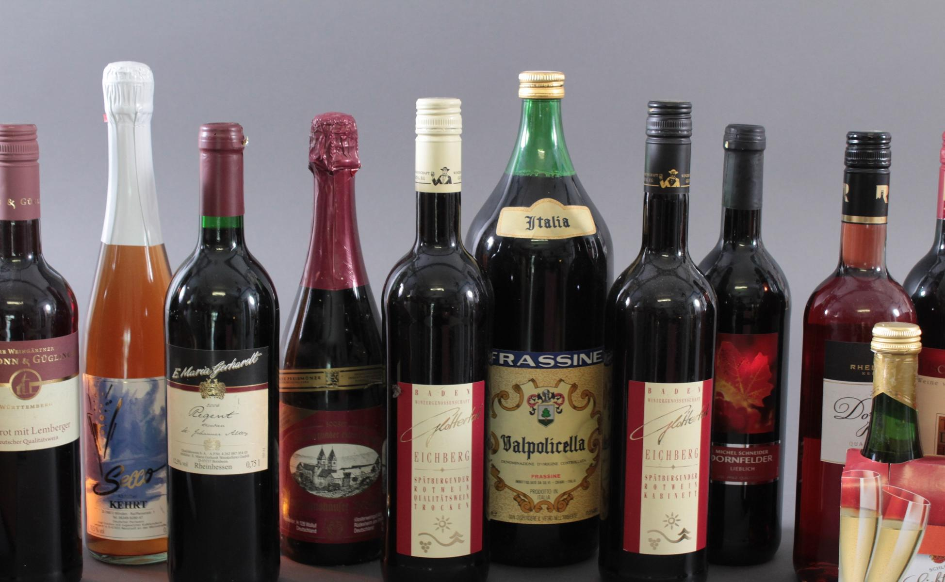 Konvolut Wein und Spirituosen-3