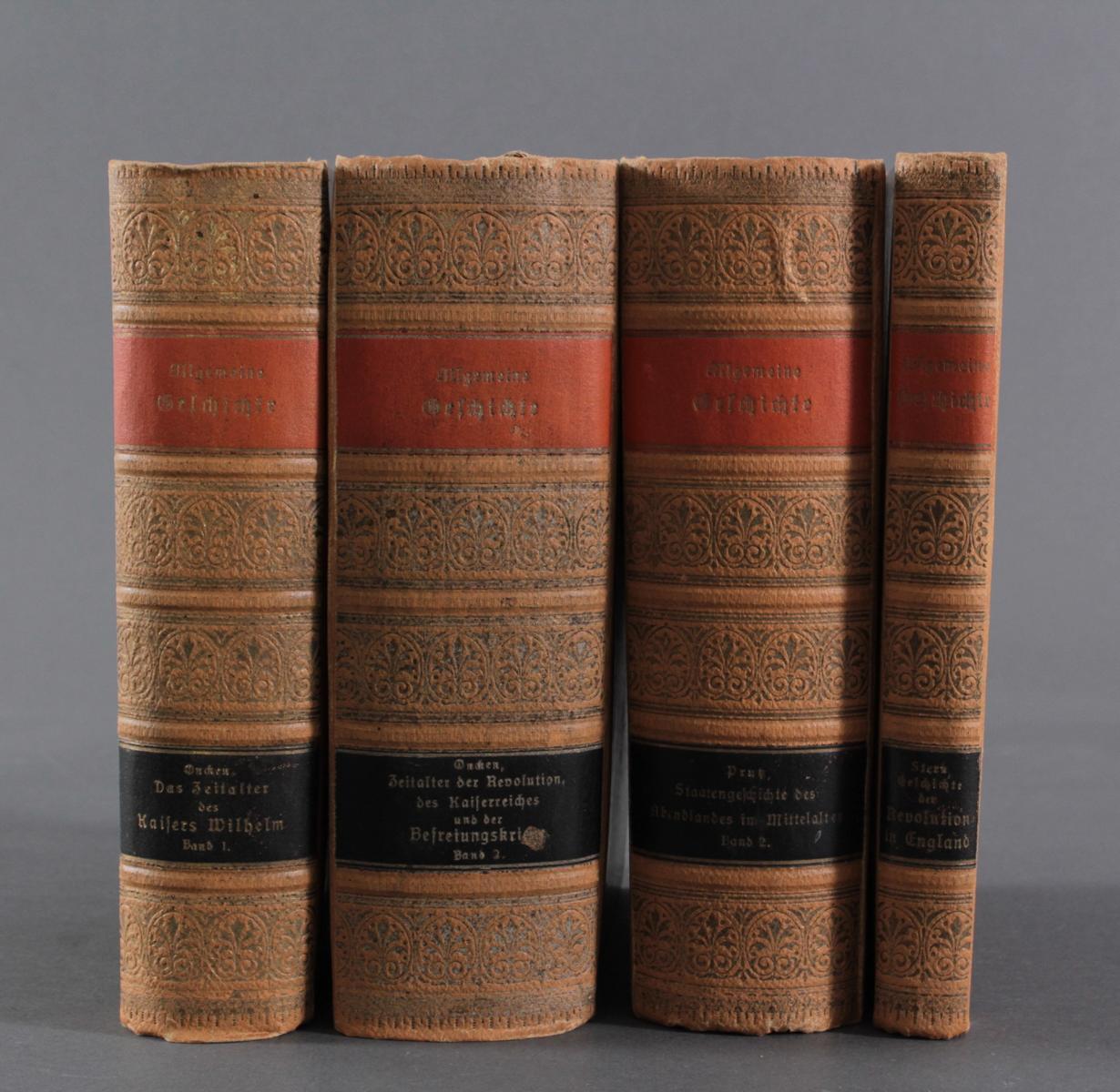 Konvolut Bücher 1900