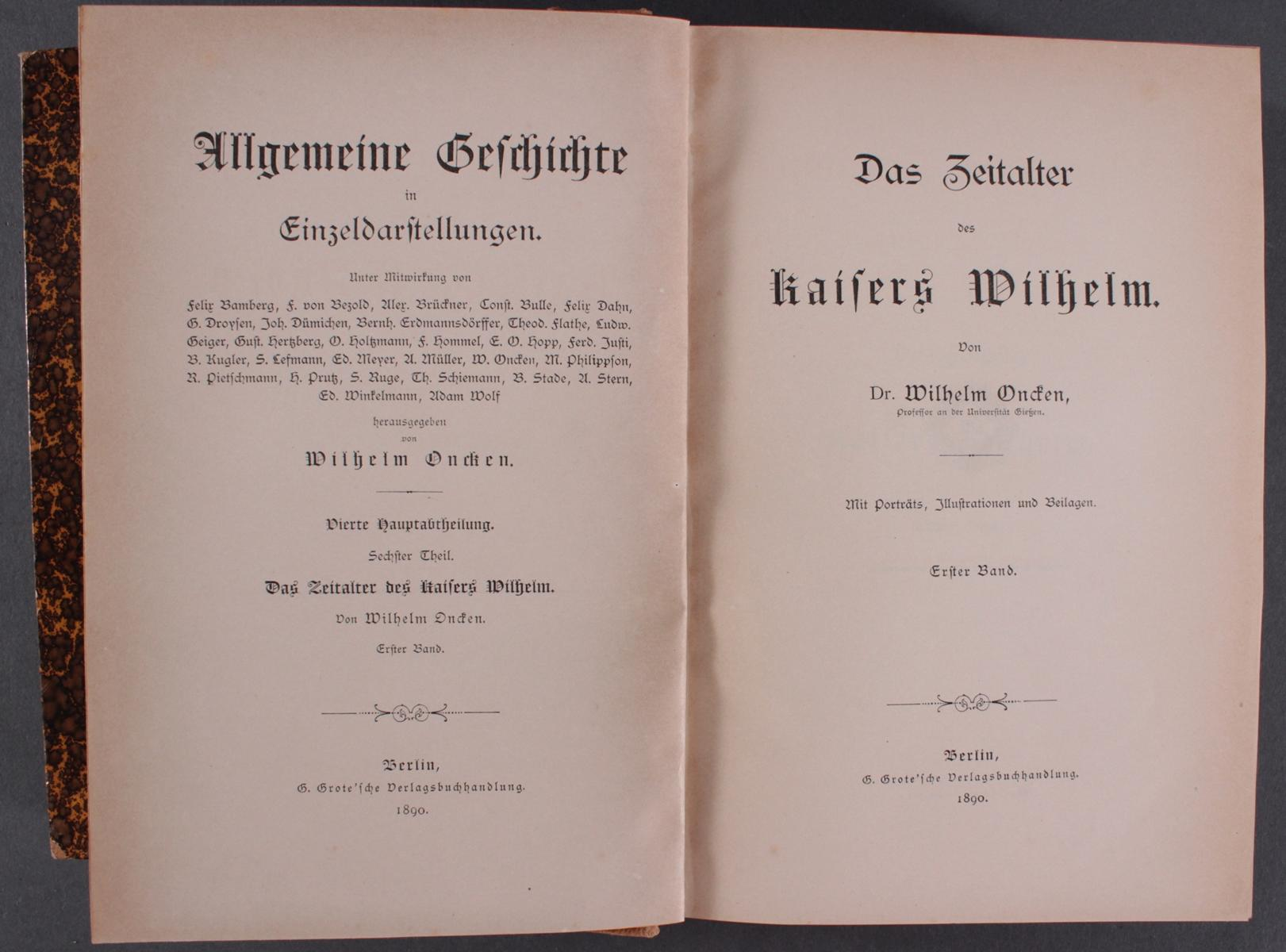 Konvolut Bücher 1900-2