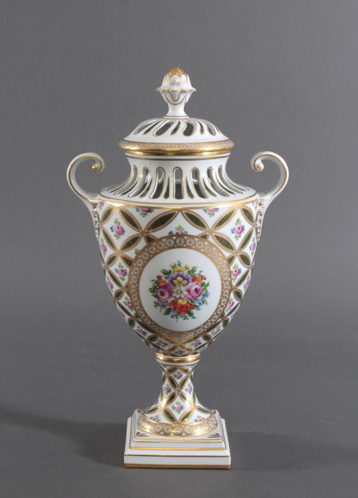 Potpourri Vase, Potschappel Dresden