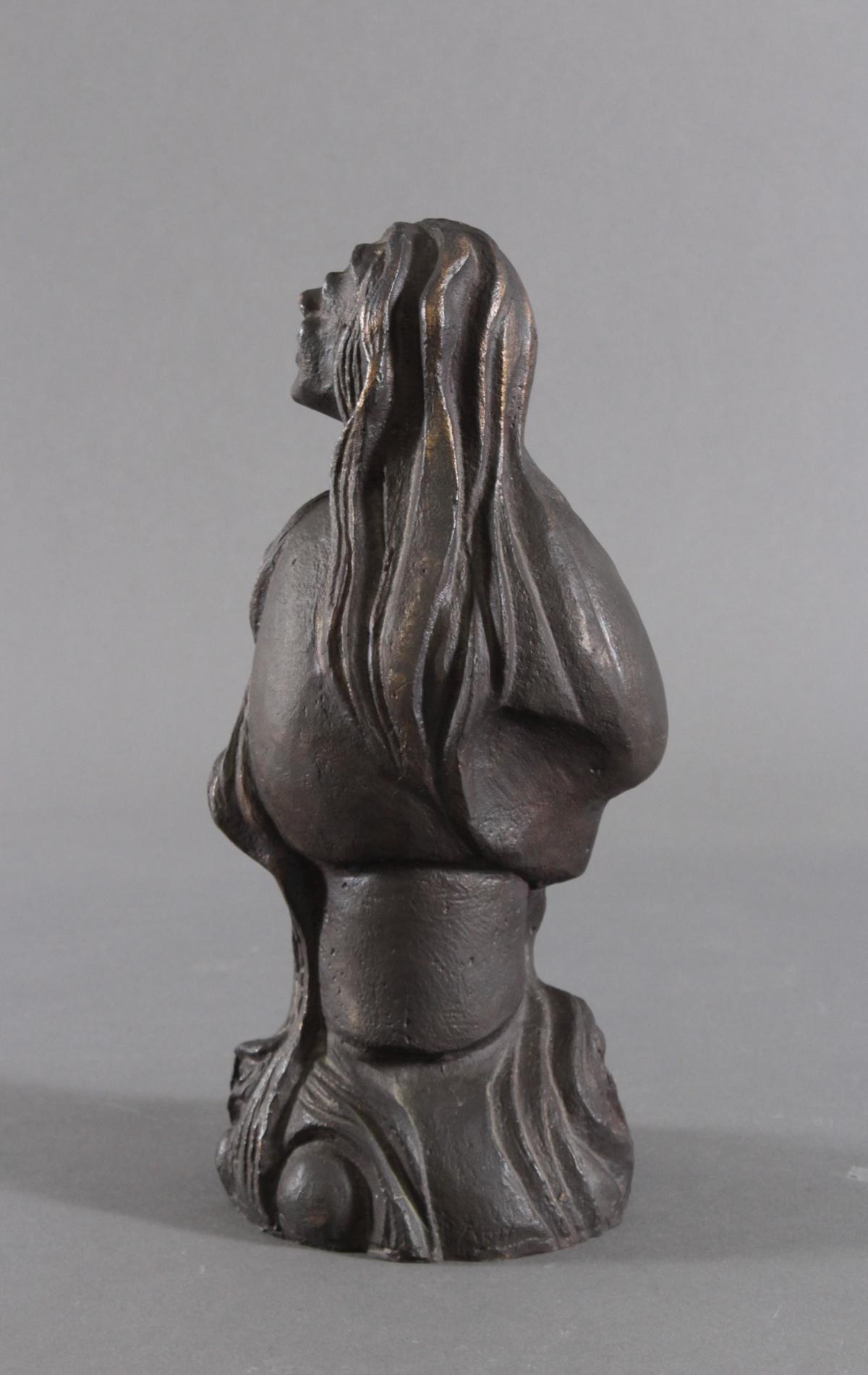 Bronzeskulptur 2. Hälfte 20. Jh.-3