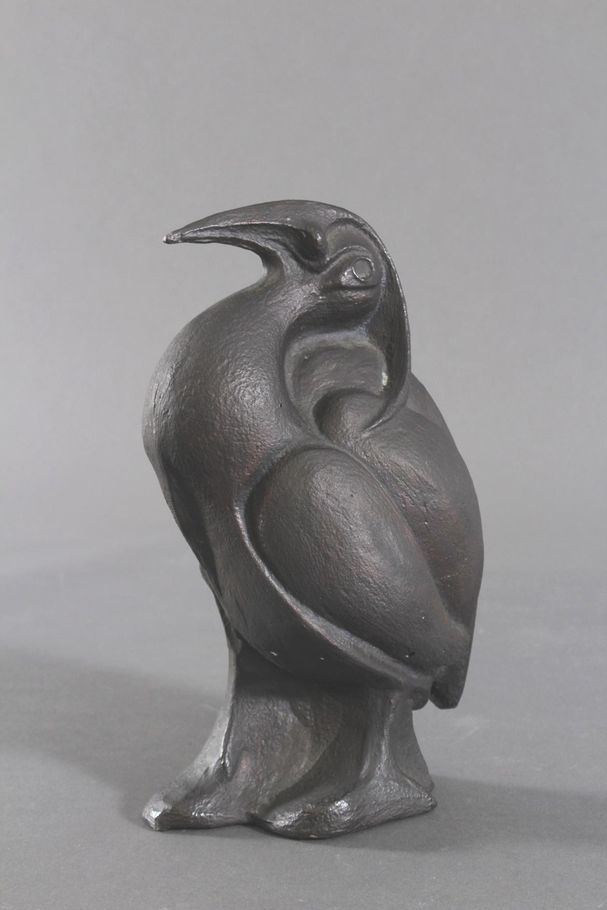Bronzeskulptur 2. Hälfte 20. Jh. 'Fantasievogel'-2