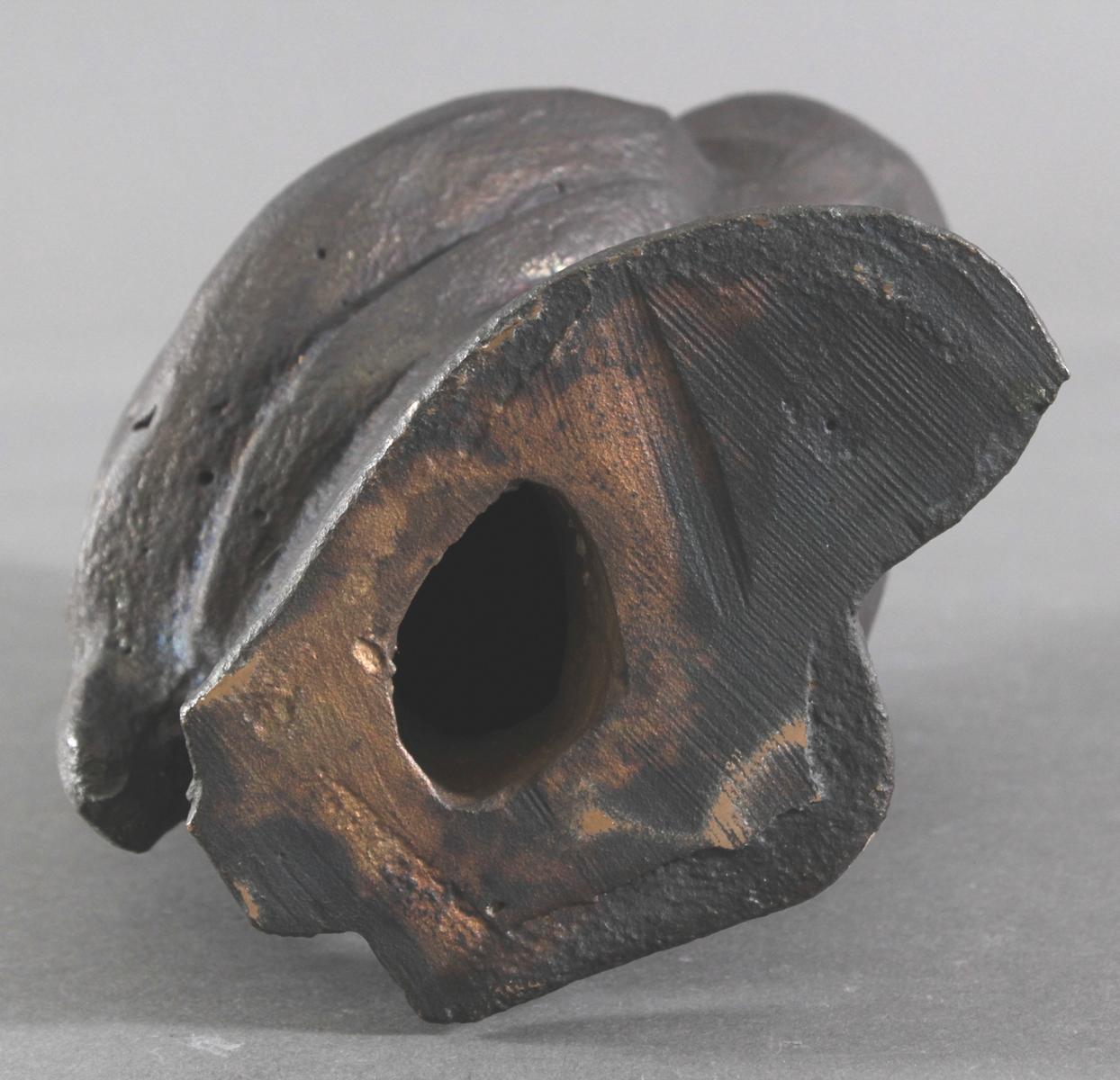 Bronzeskulptur 2. Hälfte 20. Jh. 'Fantasievogel'-4
