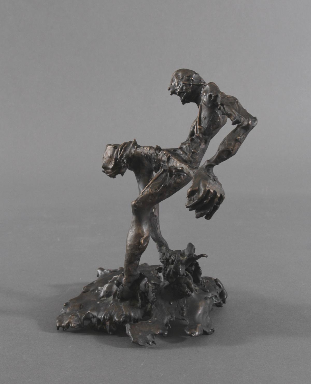 Abstrakte Bronzeskulptur 'Giesser', 2. Hälfte 20. Jh.-2
