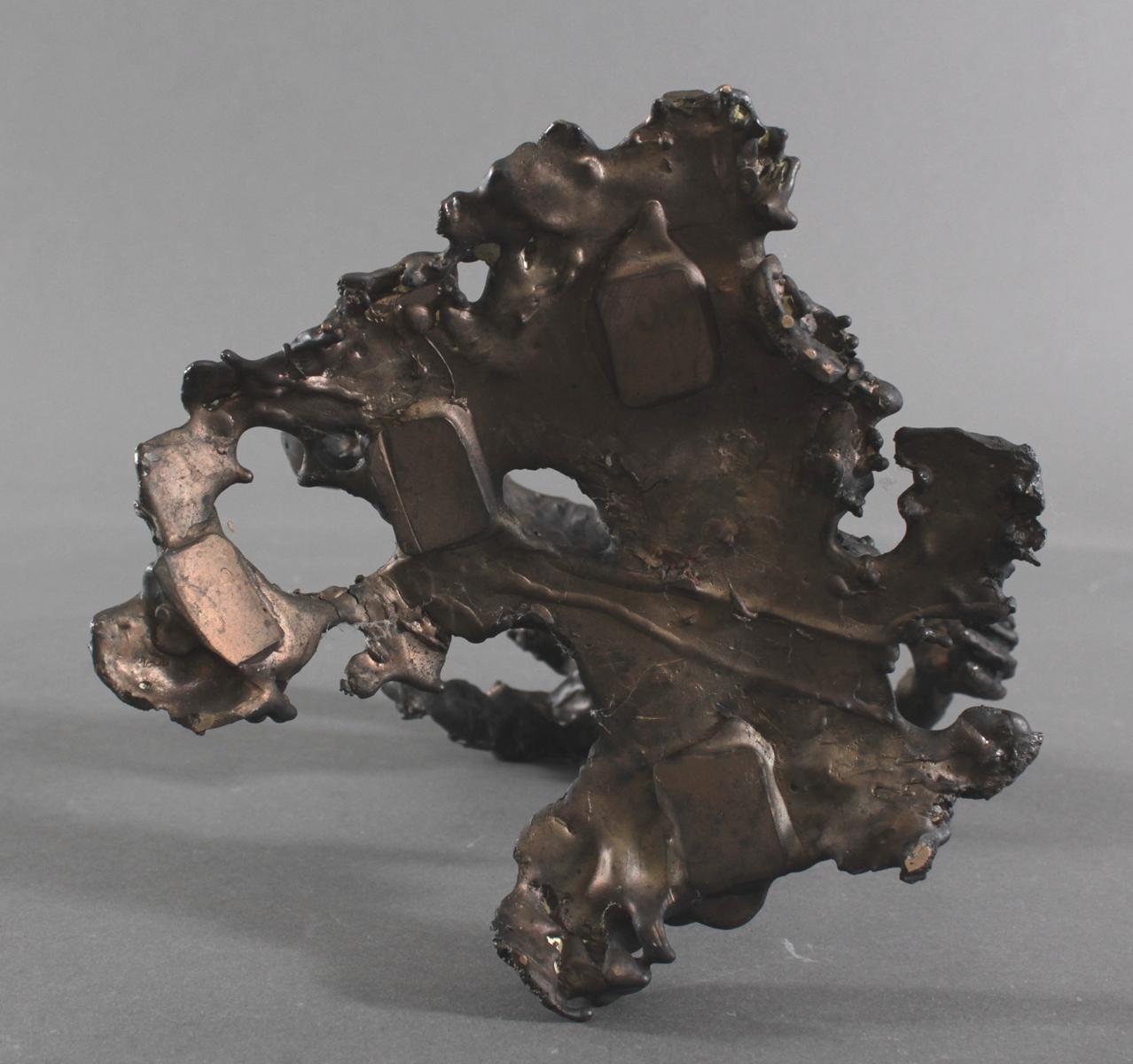 Abstrakte Bronzeskulptur 'Giesser', 2. Hälfte 20. Jh.-5