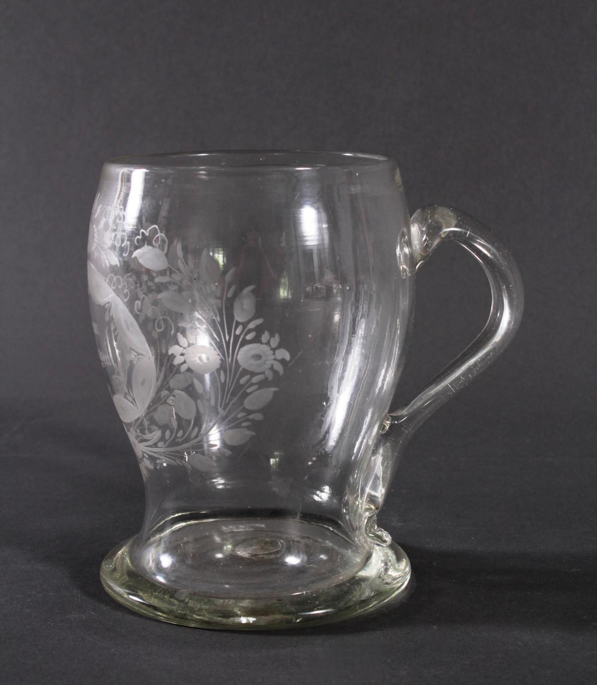 Glaskrug, um 1800-2