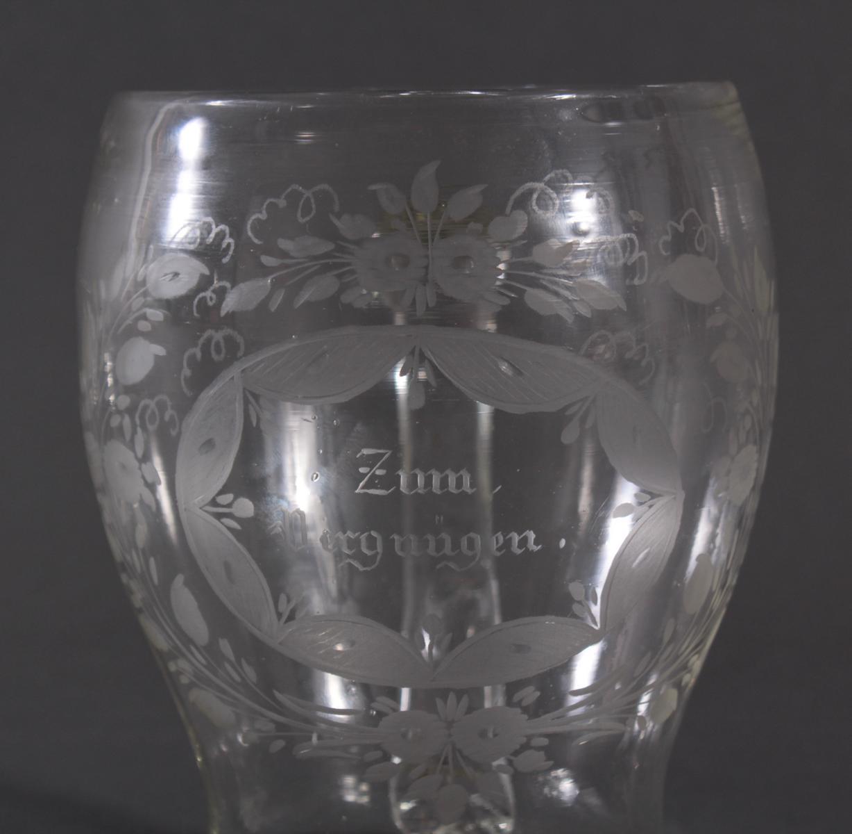 Glaskrug, um 1800-4