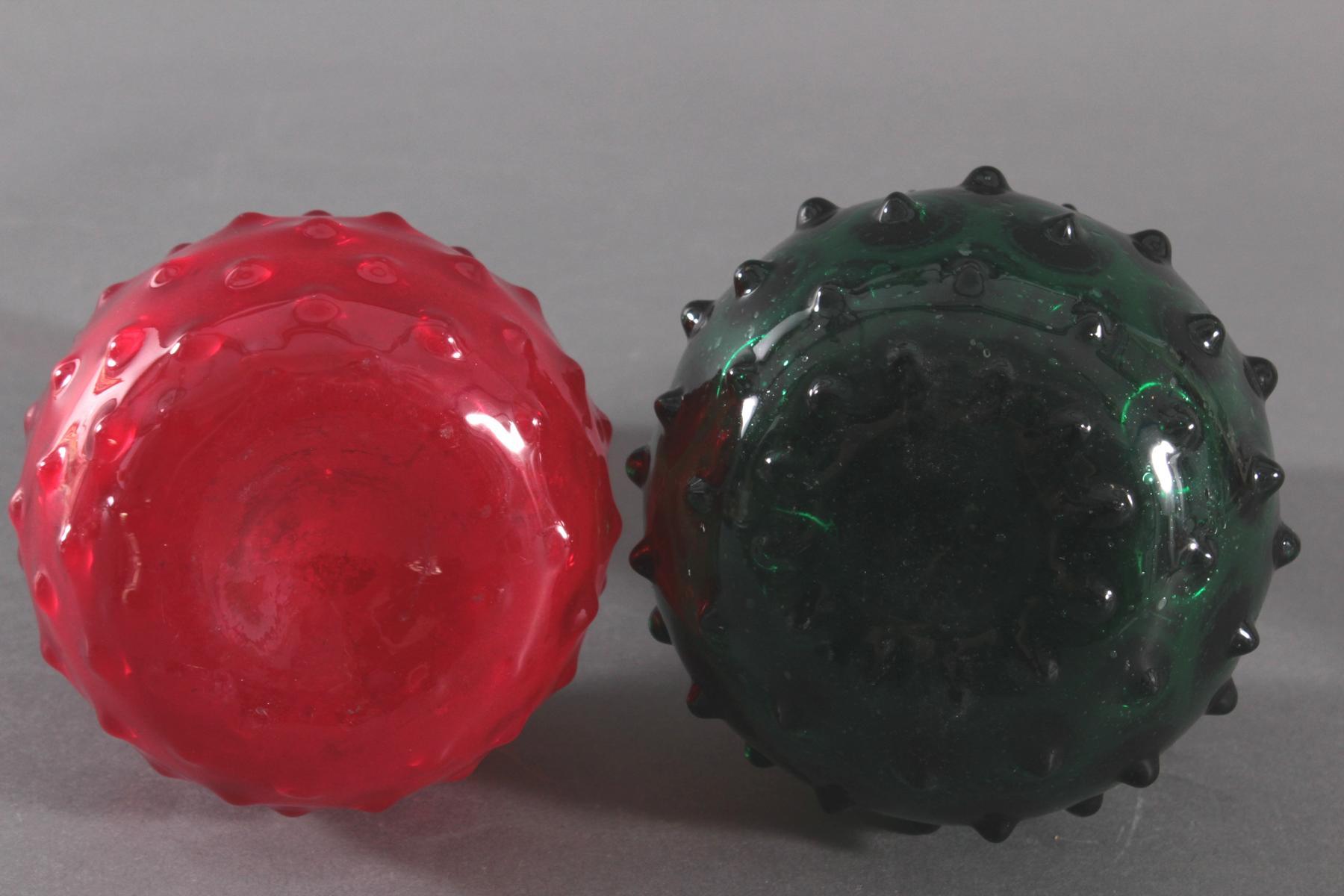 Zwei Noppenvasen, 20. Jahrhundert-2