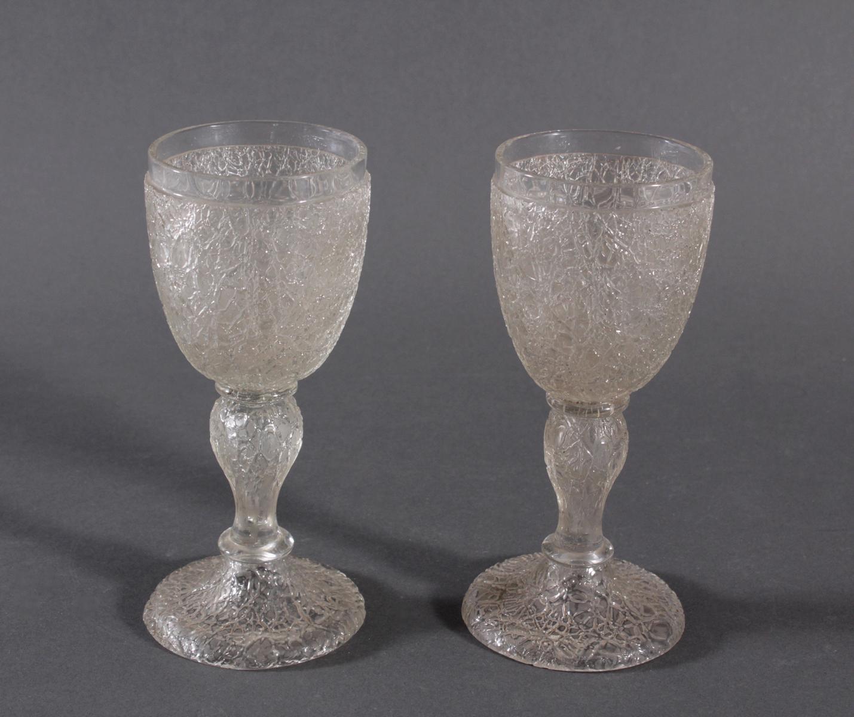 Paar Pokalgläser, 1850-1900-2