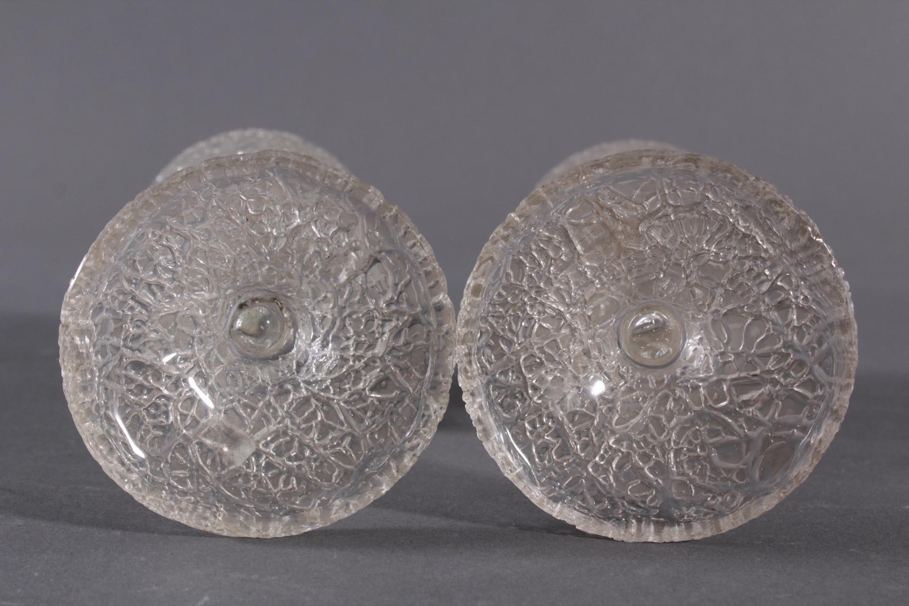 Paar Pokalgläser, 1850-1900-4