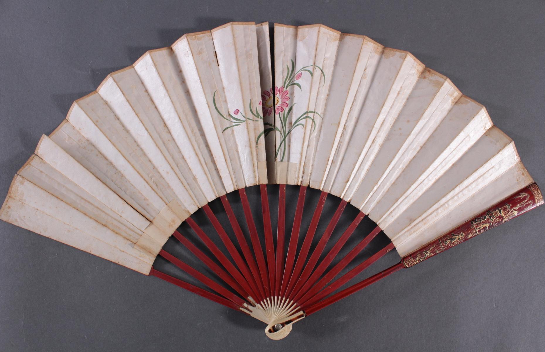 Fünf Fächer 18./19. Jahrhundert, Frankreich/Asien-10