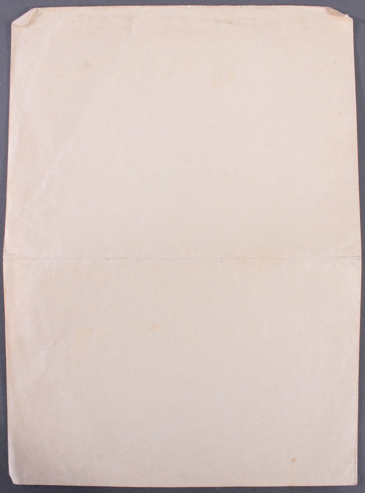 Urkunde mit Autograph Dr. Hans Pfundtner-3