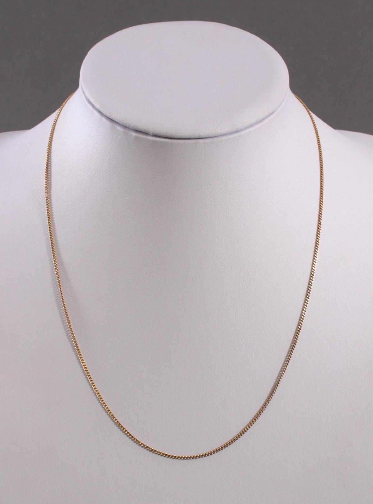 Halskette aus 18 Karat Gelbgold