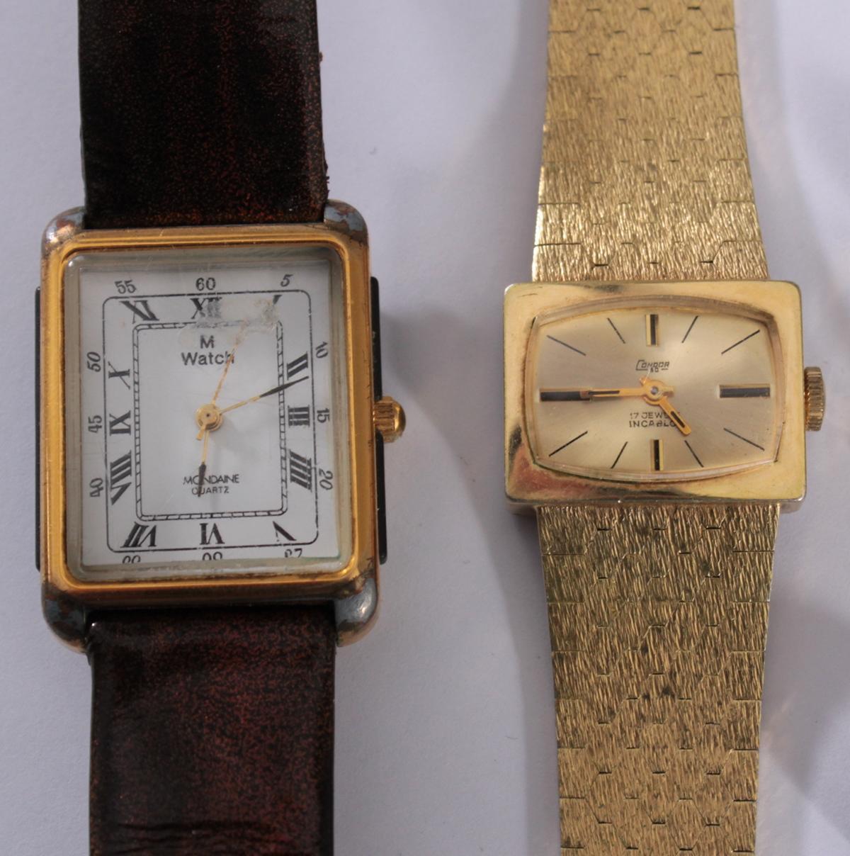 Konvolut Silberschmuck und Armbanduhren-2