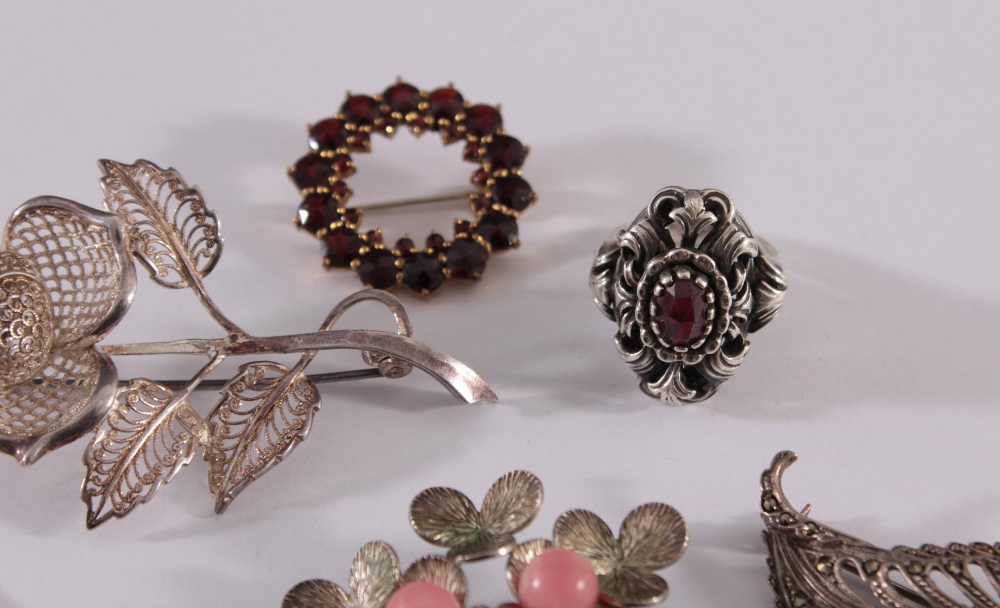 Konvolut Silberschmuck und Armbanduhren-3