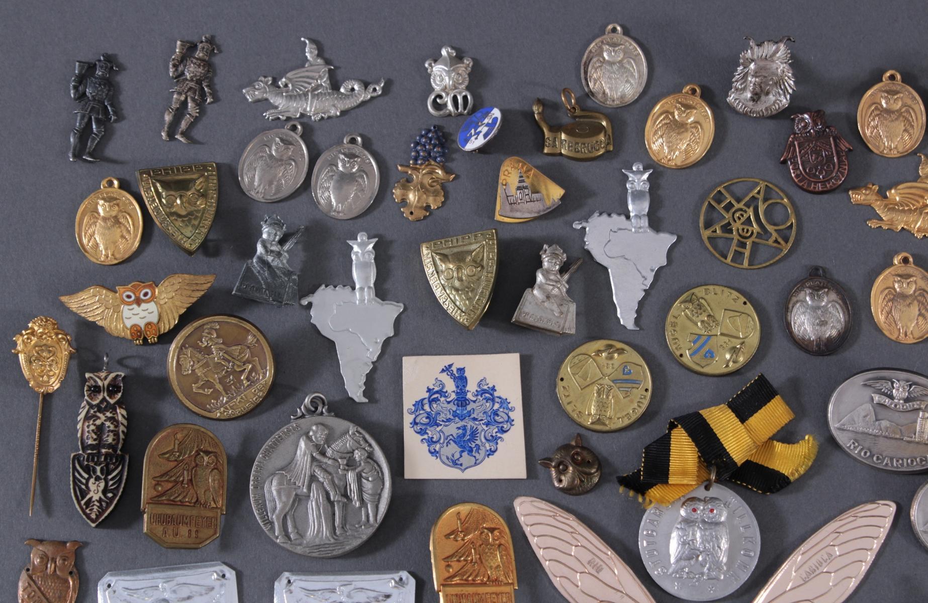 Sammlung Mitglieds- und Veranstaltungsabzeichen Schlaraffia-2