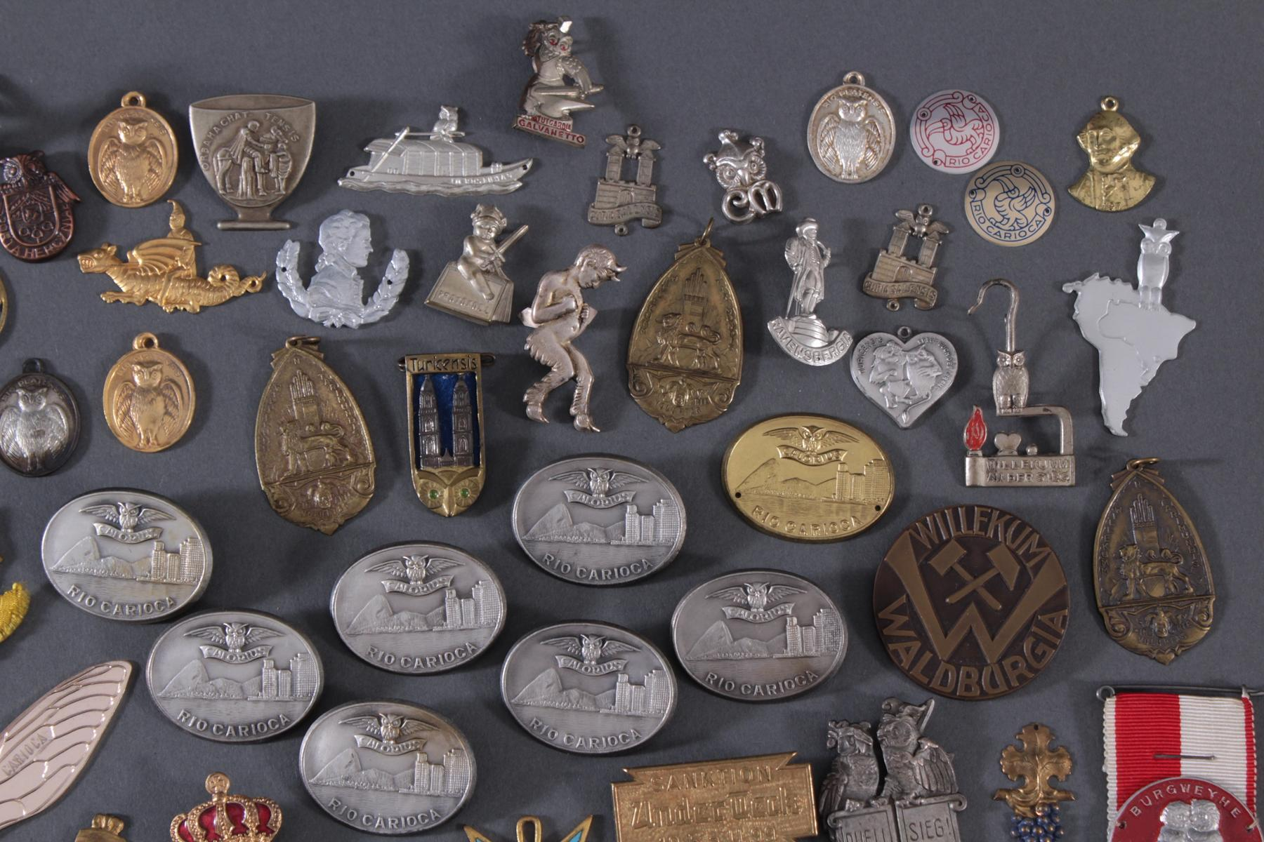 Sammlung Mitglieds- und Veranstaltungsabzeichen Schlaraffia-3