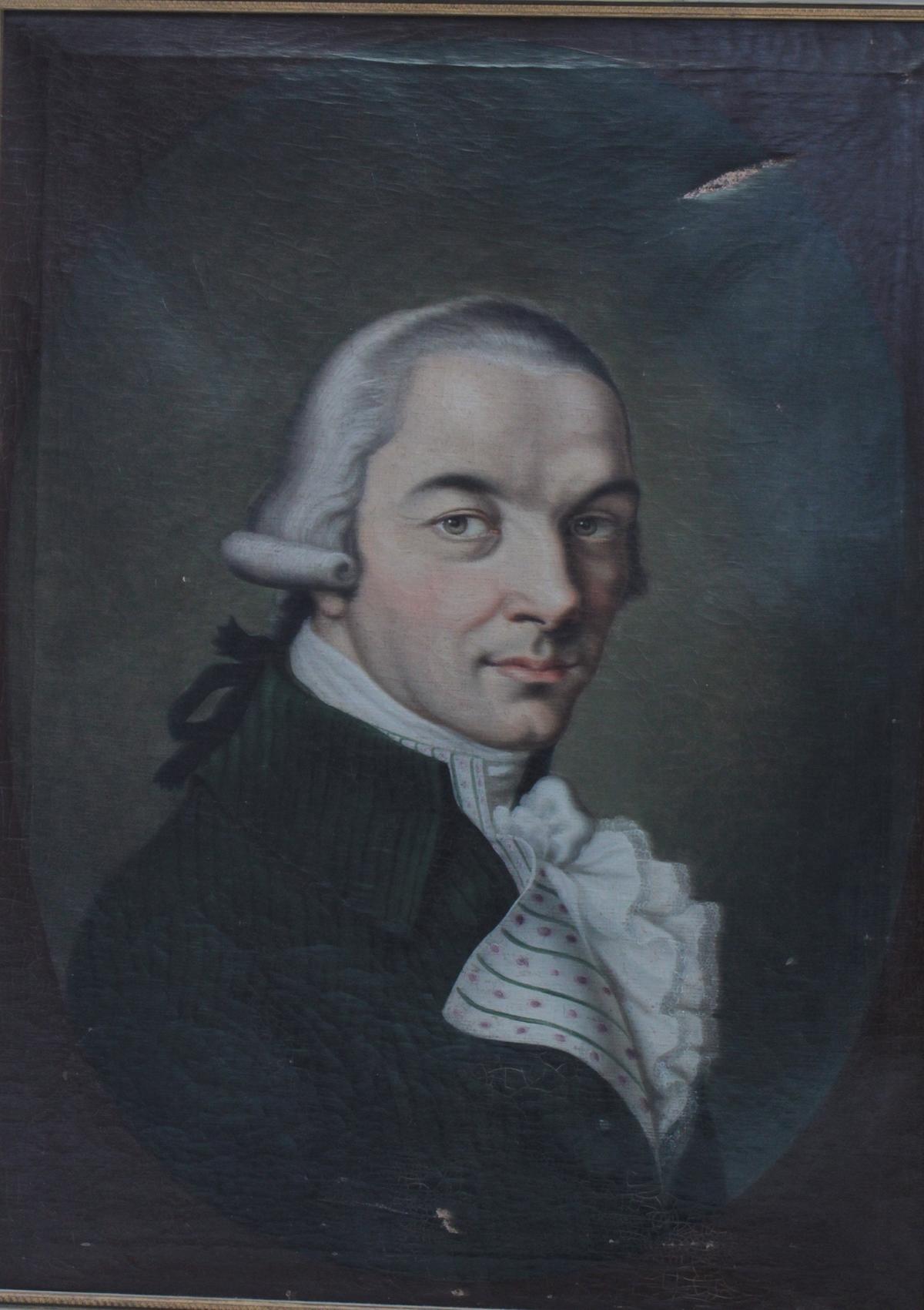 Damen- und Herrenportrait, 18. Jh.-2
