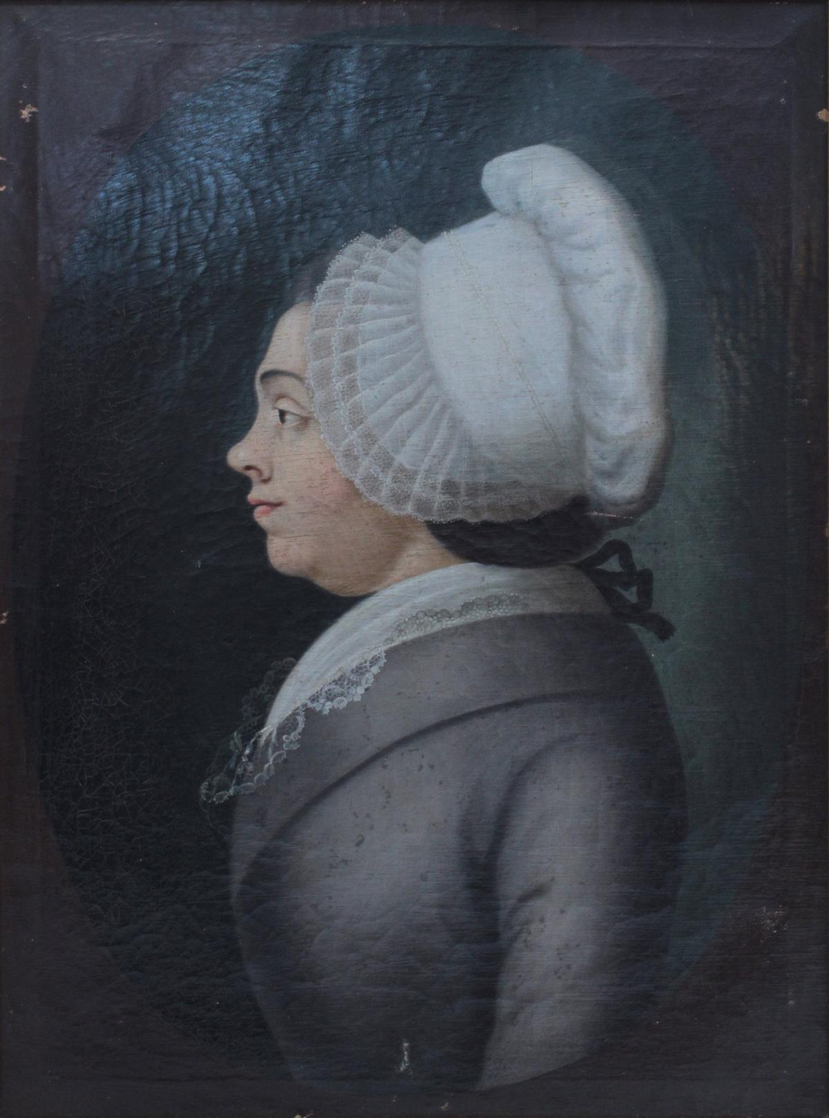Damen- und Herrenportrait, 18. Jh.-3