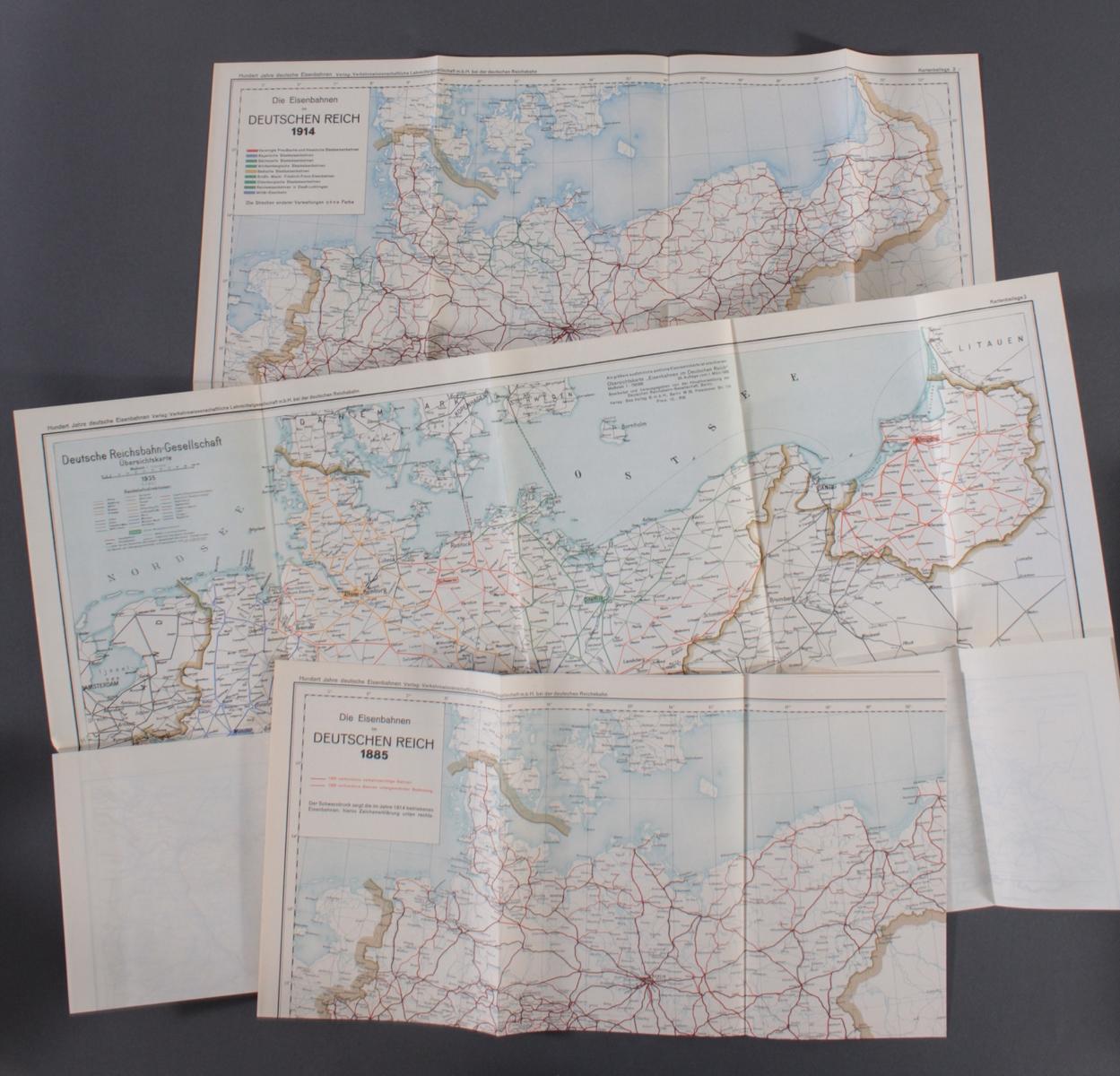 Hundert Jahre deutsche Eisenbahn, Jubiläumsschrift zum hundertjährigen Bestehen-3