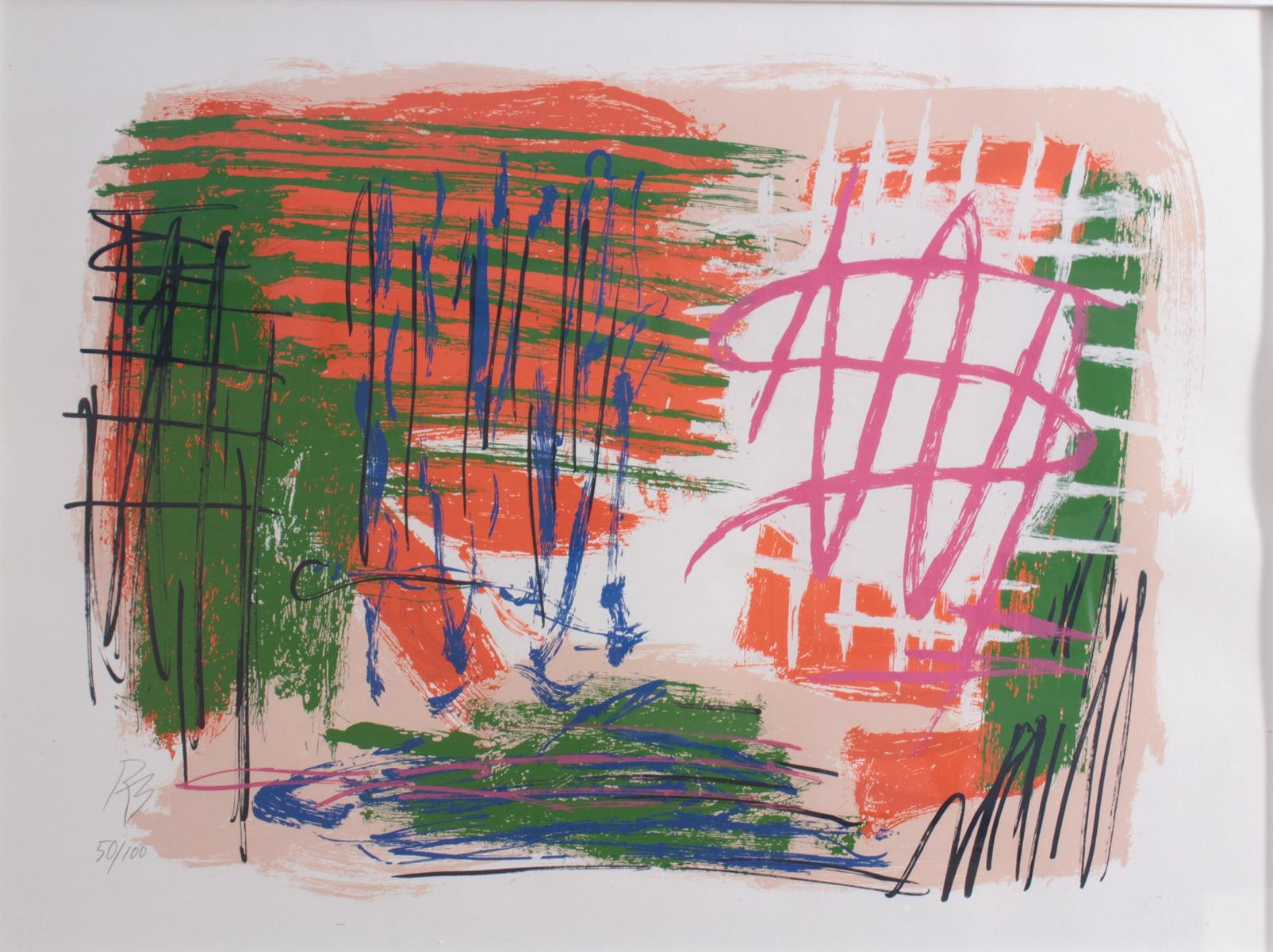 Reinhold Braun (1961).  'Topo-Univers'-2
