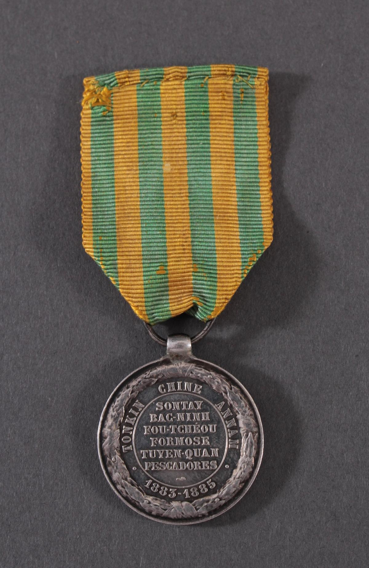 Tonkin Expeditionserinnerungsmedaille CAU-GIAI 1885-2