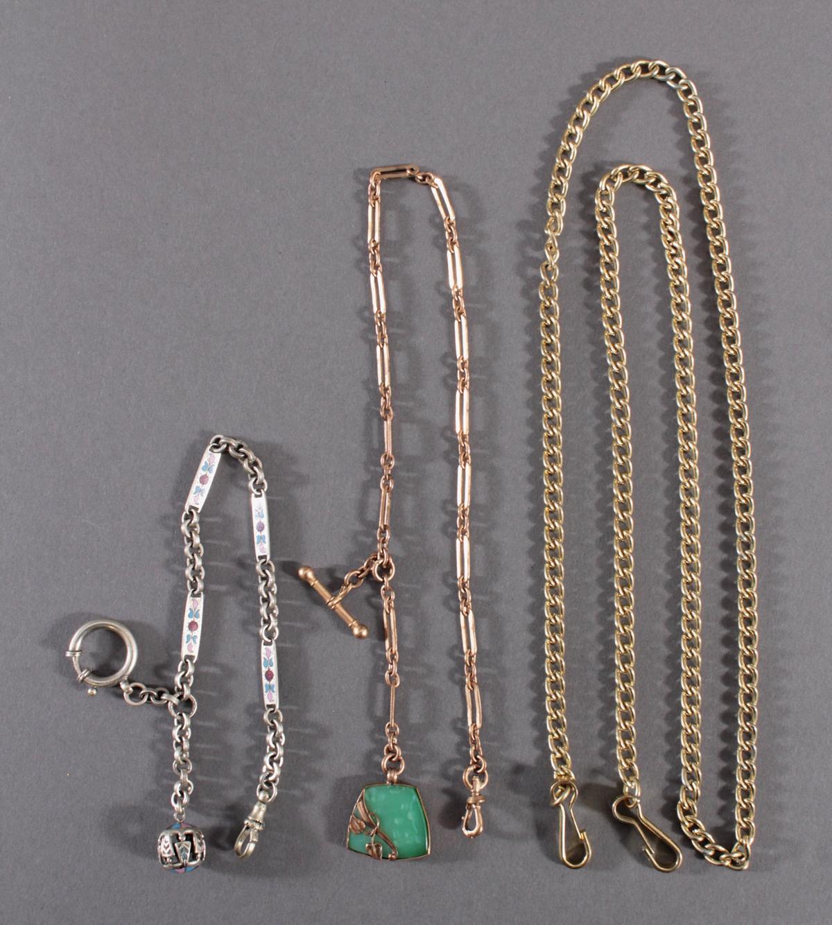 3 Taschenuhrenketten