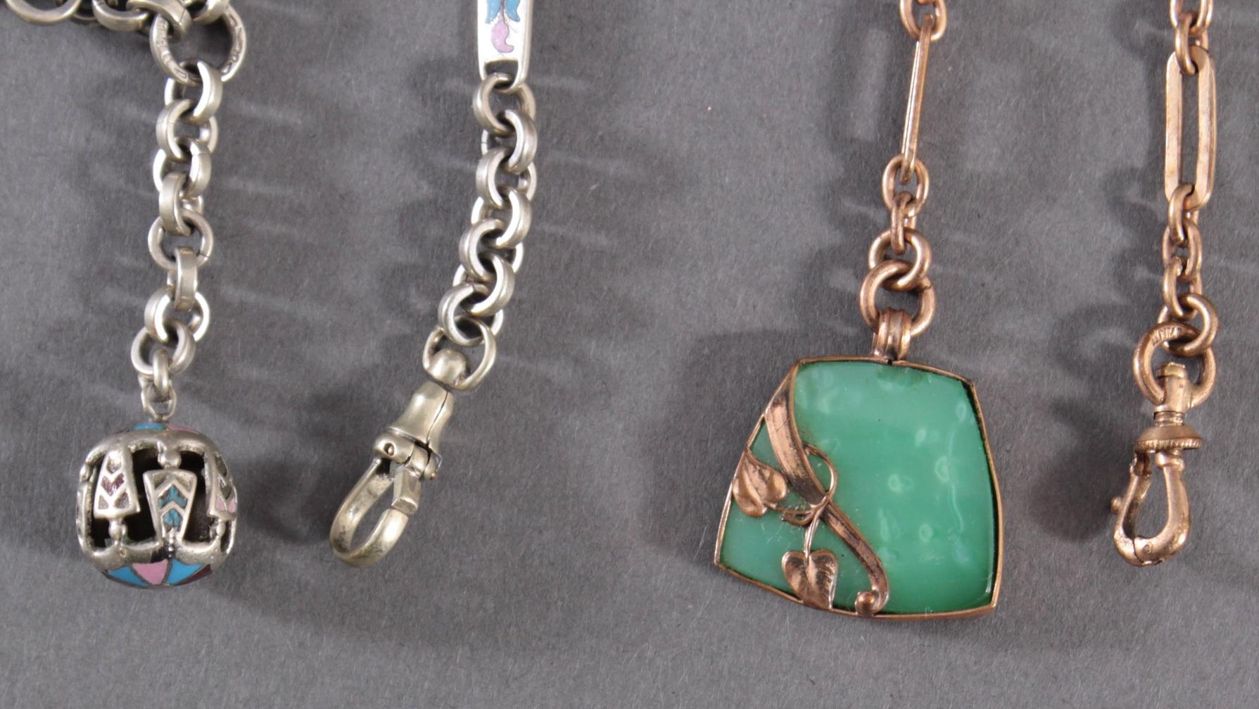3 Taschenuhrenketten-2