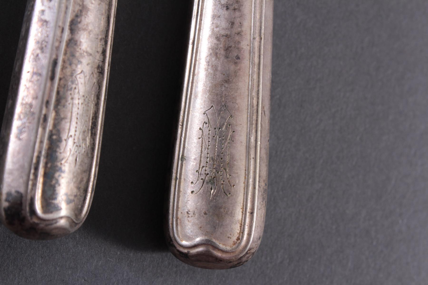 Antikes Silberbesteck-5