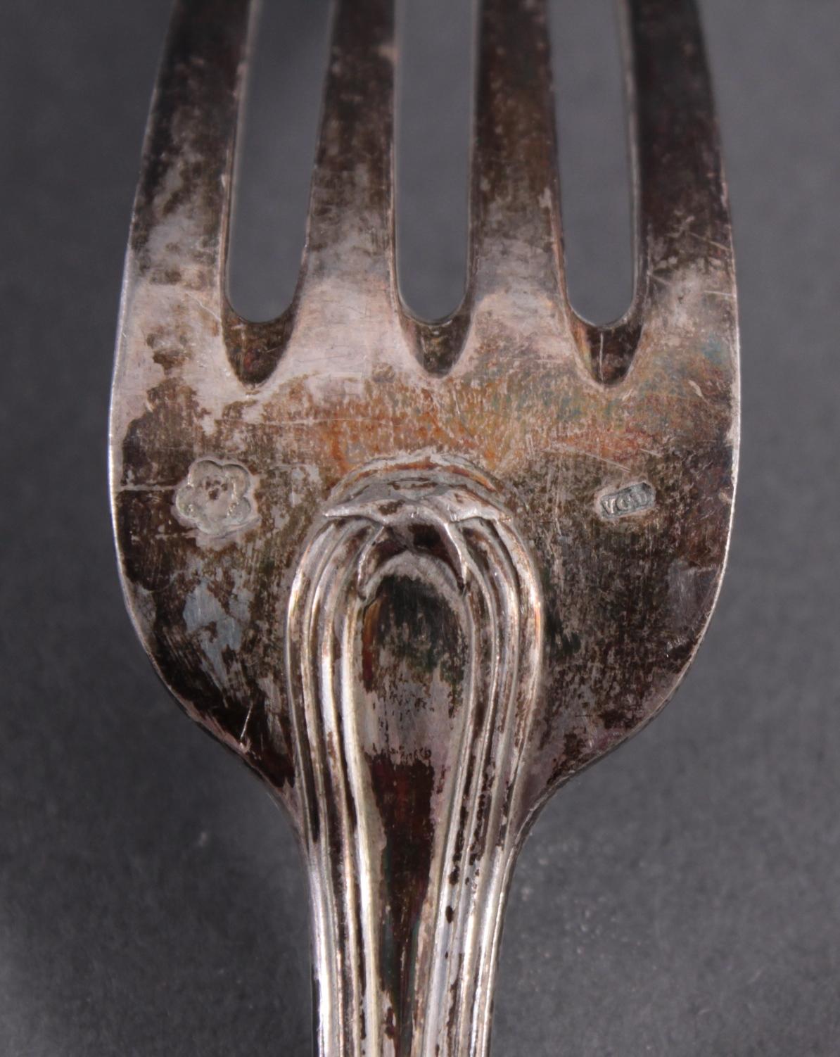 Antikes Silberbesteck-6