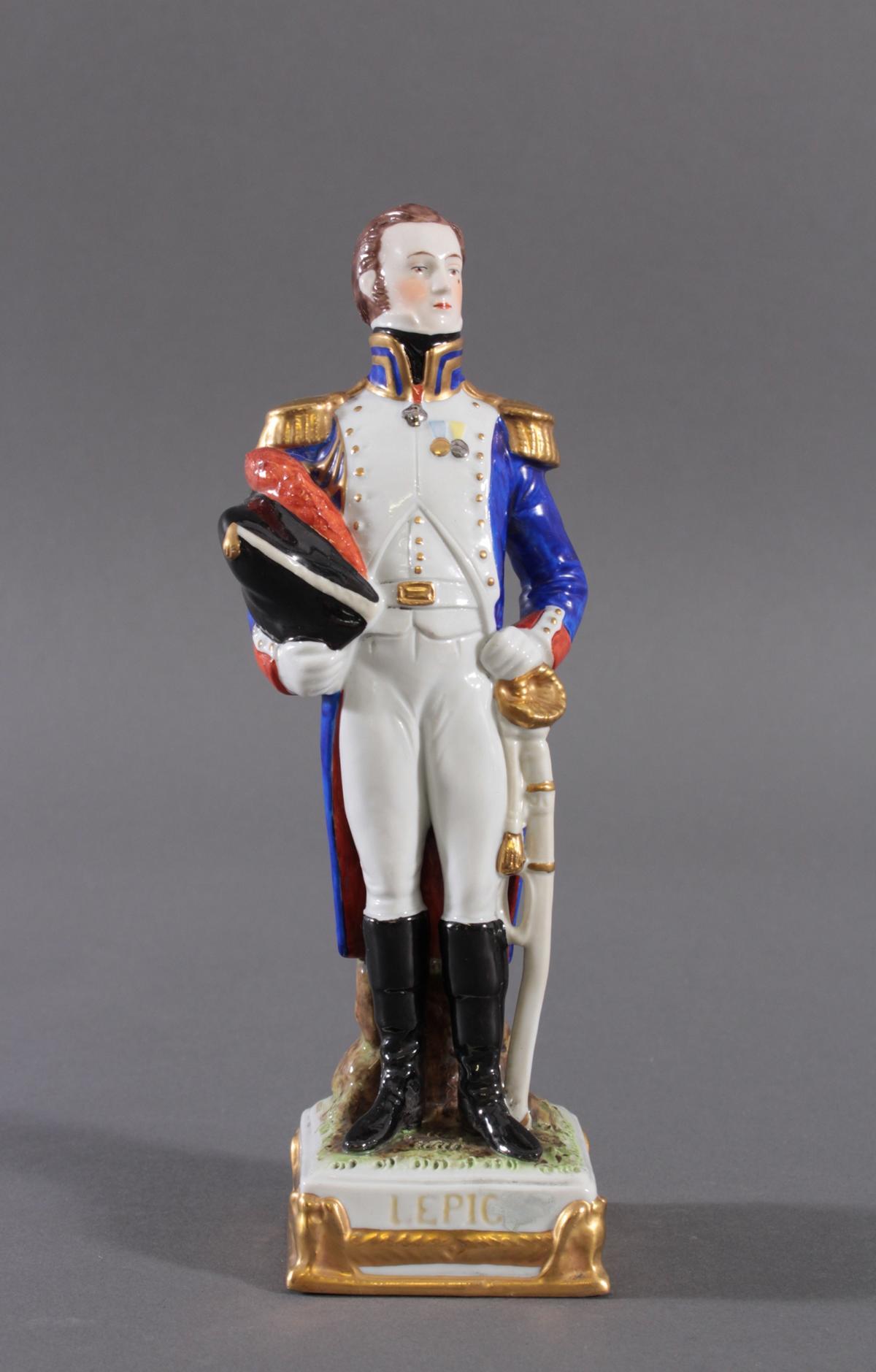 Scheibe Alsbach – Figur, Louis Lepic 1765 – 1827