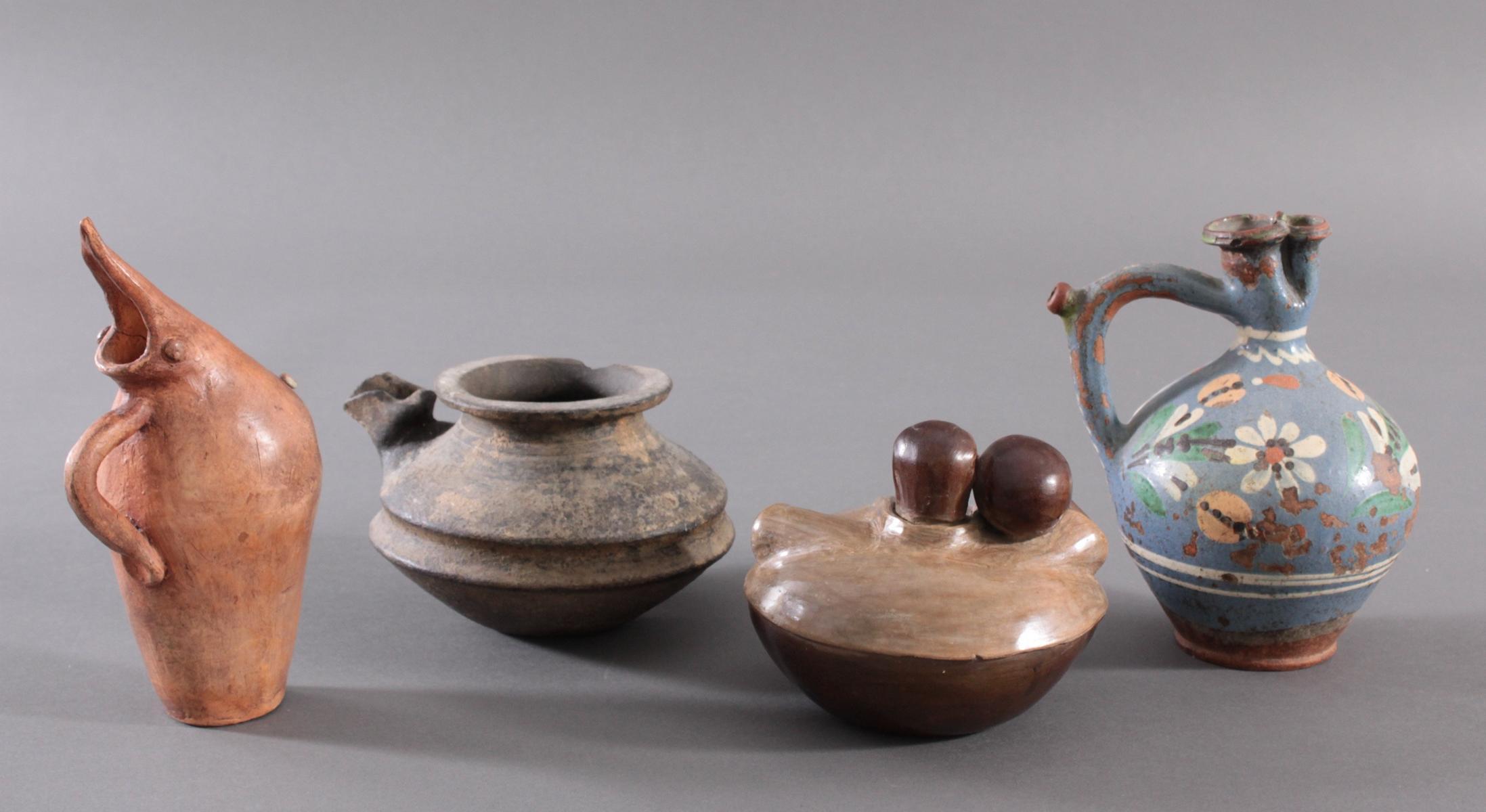4 unterschiedliche Keramiken-3