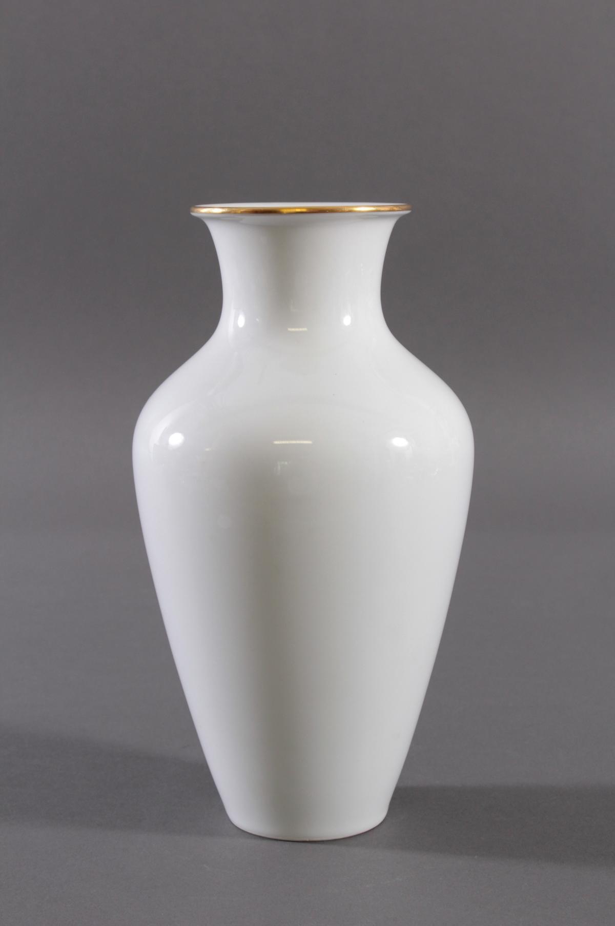 Große Vase, Höchster Porzellanmanufaktur, signiert Kurt Schröder (1927 – 2008)-2