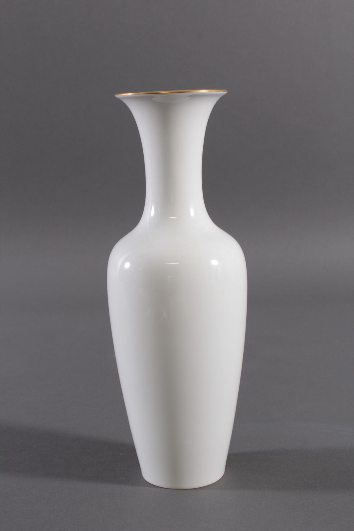 Vase, KPM Berlin, signiert Kurt Schröder (1927 – 2008)-2