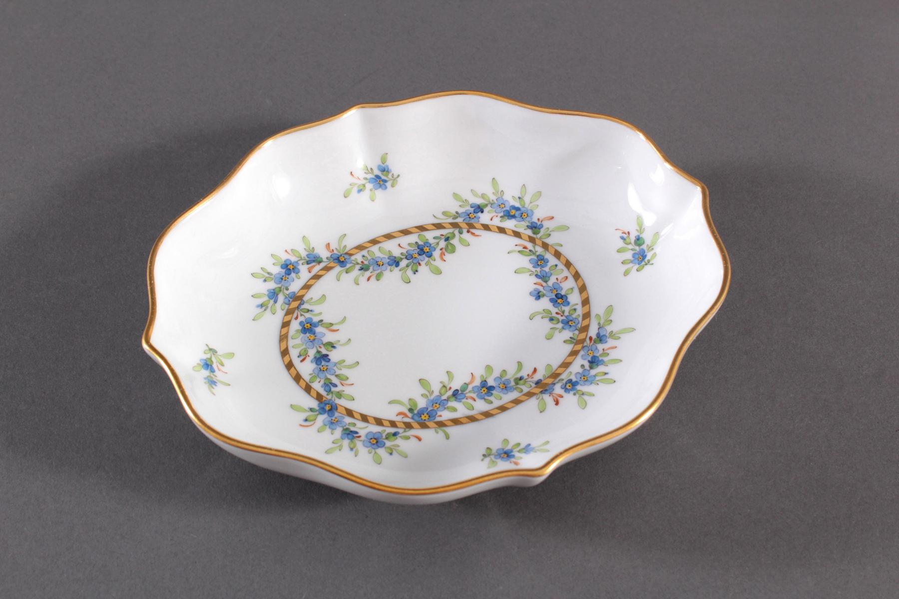 Anbietschale Höchster Porzellanmanufaktur, signiert Kurt Schröder (1927 – 2008)-2