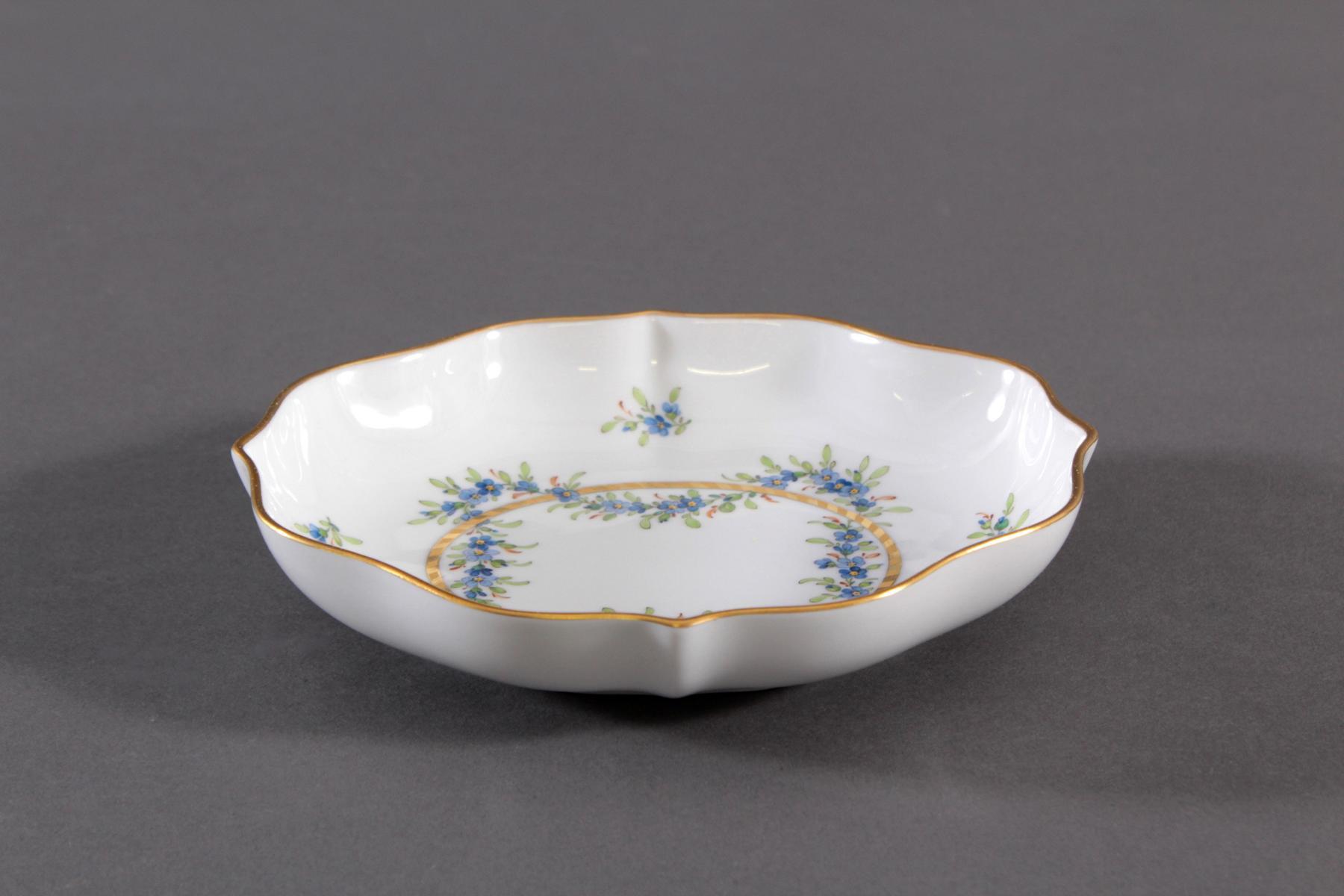 Anbietschale Höchster Porzellanmanufaktur, signiert Kurt Schröder (1927 – 2008)-3