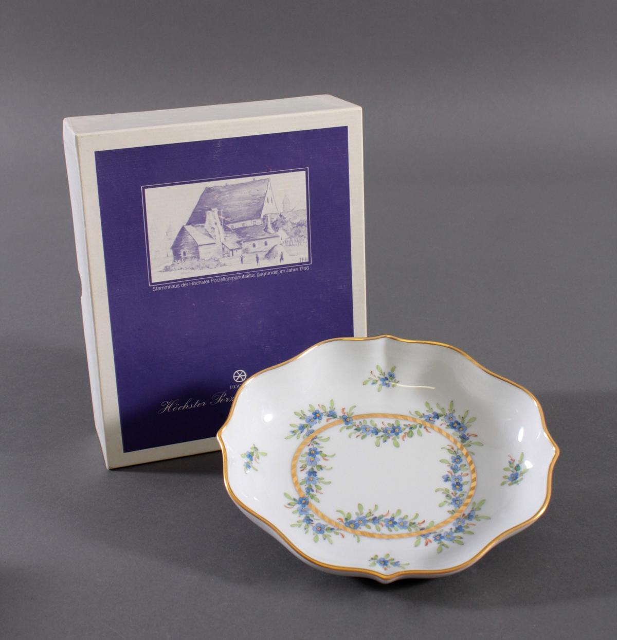 Anbietschale Höchster Porzellanmanufaktur, signiert Kurt Schröder (1927 – 2008)-4